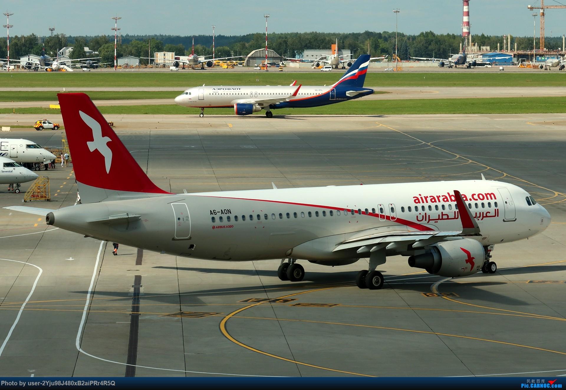 Re:[原创]LIULIU|Sheremetyevo的漫游|其他篇 AIRBUS A320-214(SL) A6-AON 俄罗斯谢诺梅杰沃机场
