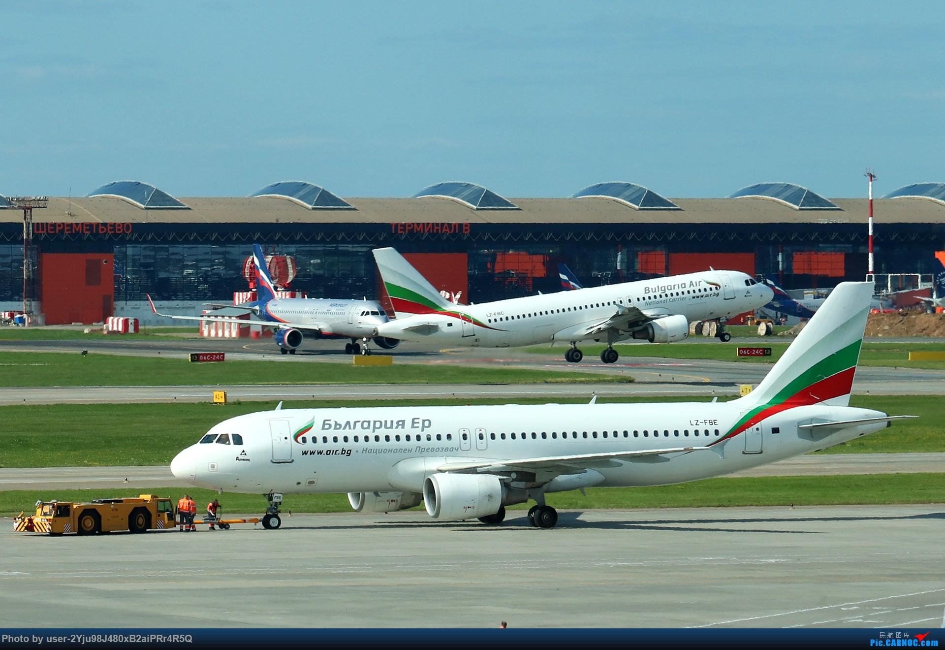 Re:LIULIU|Sheremetyevo的漫游|其他篇 AIRBUS A320-214 LZ-FBE 俄罗斯谢诺梅杰沃机场