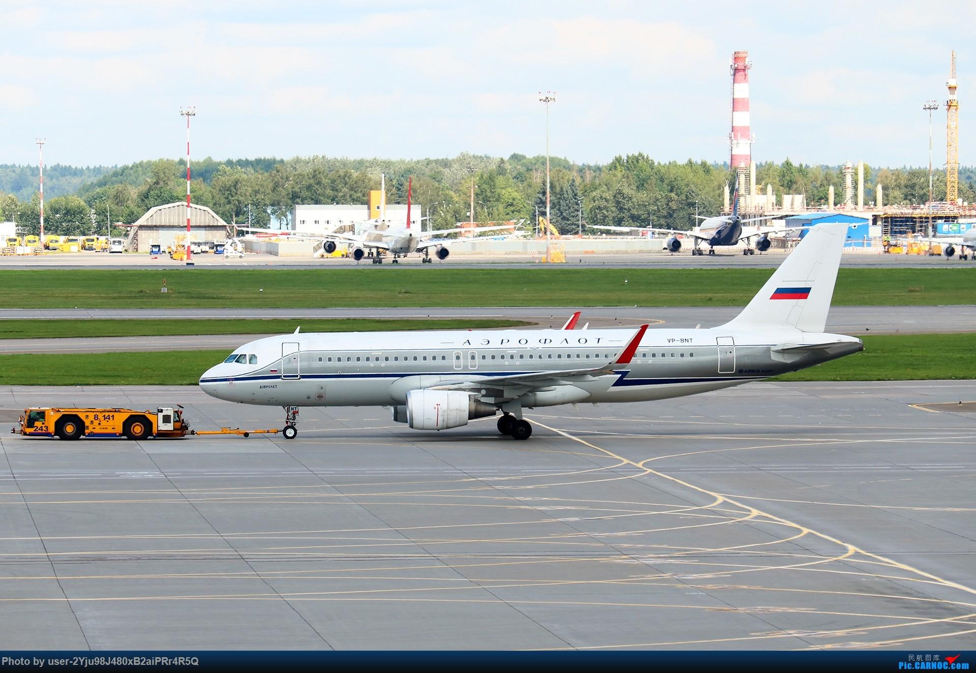 Re:LIULIU|Sheremetyevo的漫游|Aeroflot毛航篇 AIRBUS A320-214(SL) VP-BNT 俄罗斯谢诺梅杰沃机场