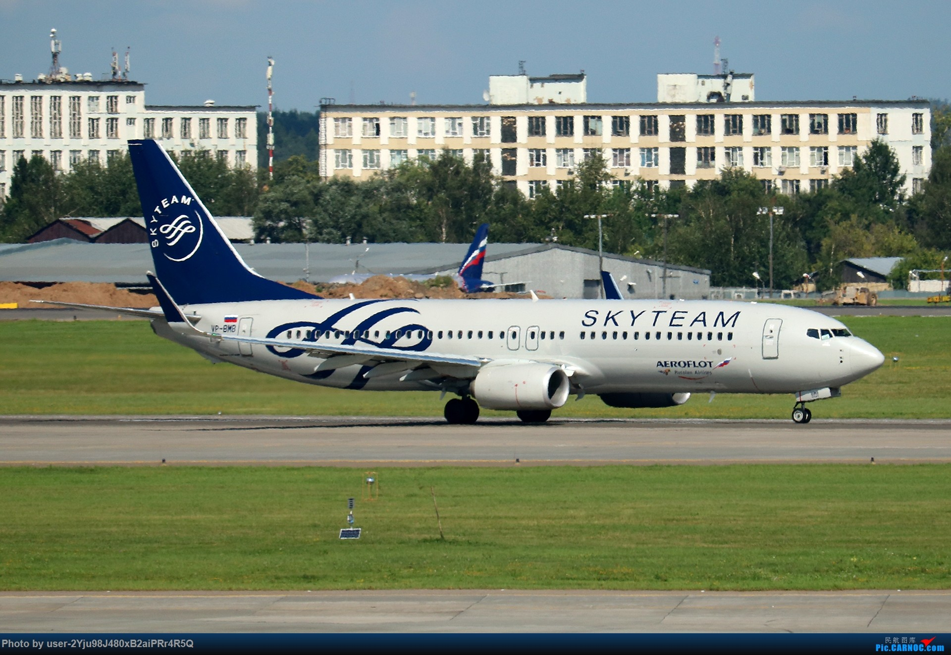 Re:[原创]LIULIU Sheremetyevo的漫游 Aeroflot毛航篇 BOEING 737-8LJ(WL) VP-BMB 俄罗斯谢诺梅杰沃机场