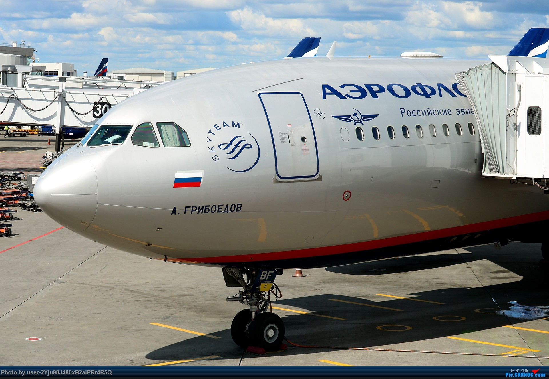 Re:[原创]LIULIU Sheremetyevo的漫游 Aeroflot毛航篇 AIRBUS A330-243 VQ-BBF 俄罗斯谢诺梅杰沃机场