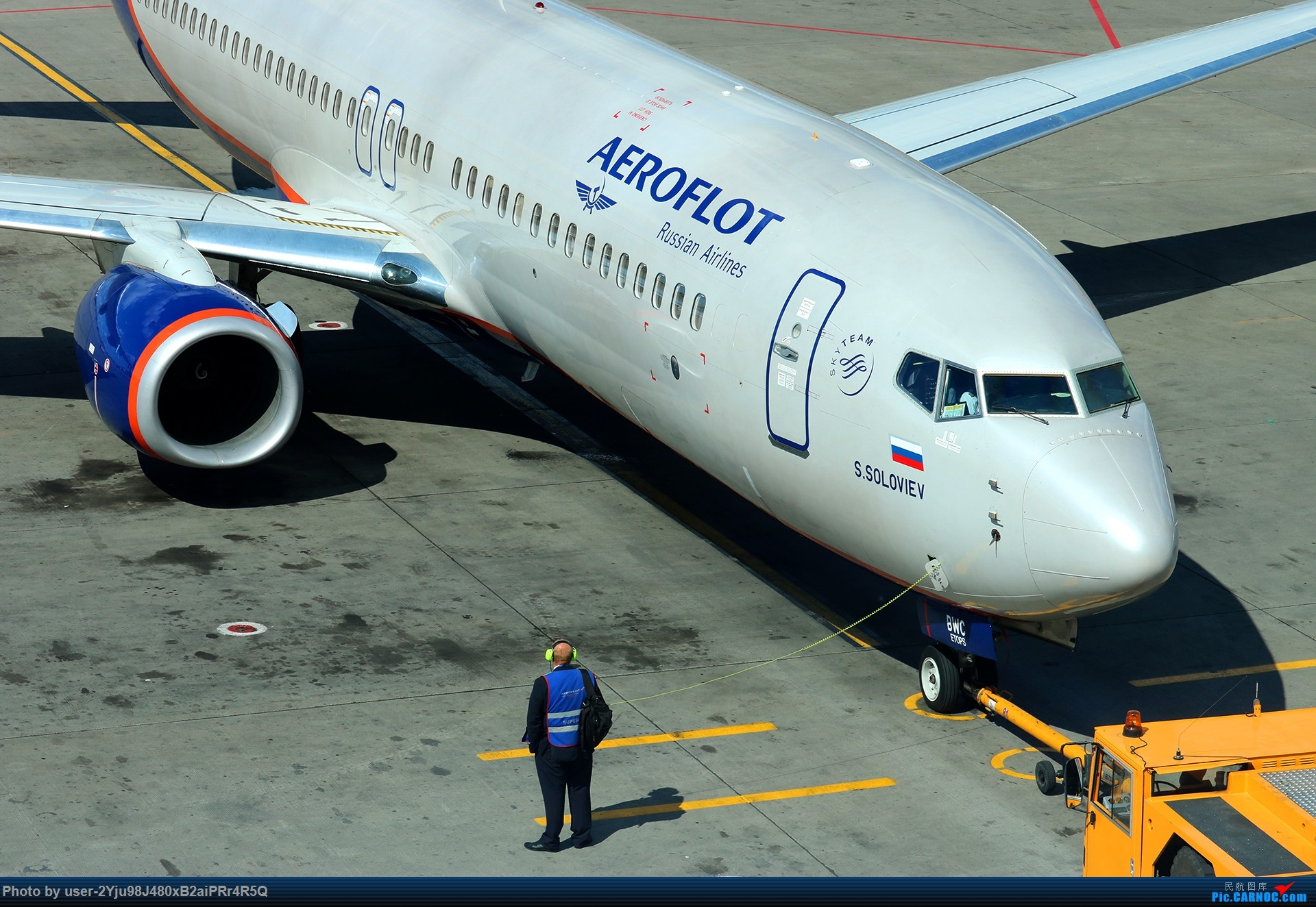 Re:[原创]LIULIU Sheremetyevo的漫游 Aeroflot毛航篇 BOEING 737-8LJ(WL) VQ-BWC 俄罗斯谢诺梅杰沃机场