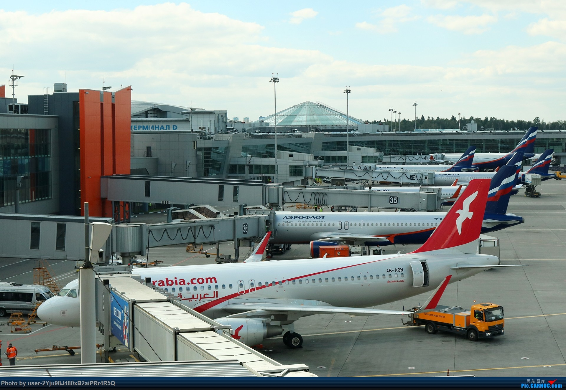 Re:[原创]LIULIU Sheremetyevo的漫游 Aeroflot毛航篇 AIRBUS A320-214(SL)  俄罗斯谢诺梅杰沃机场