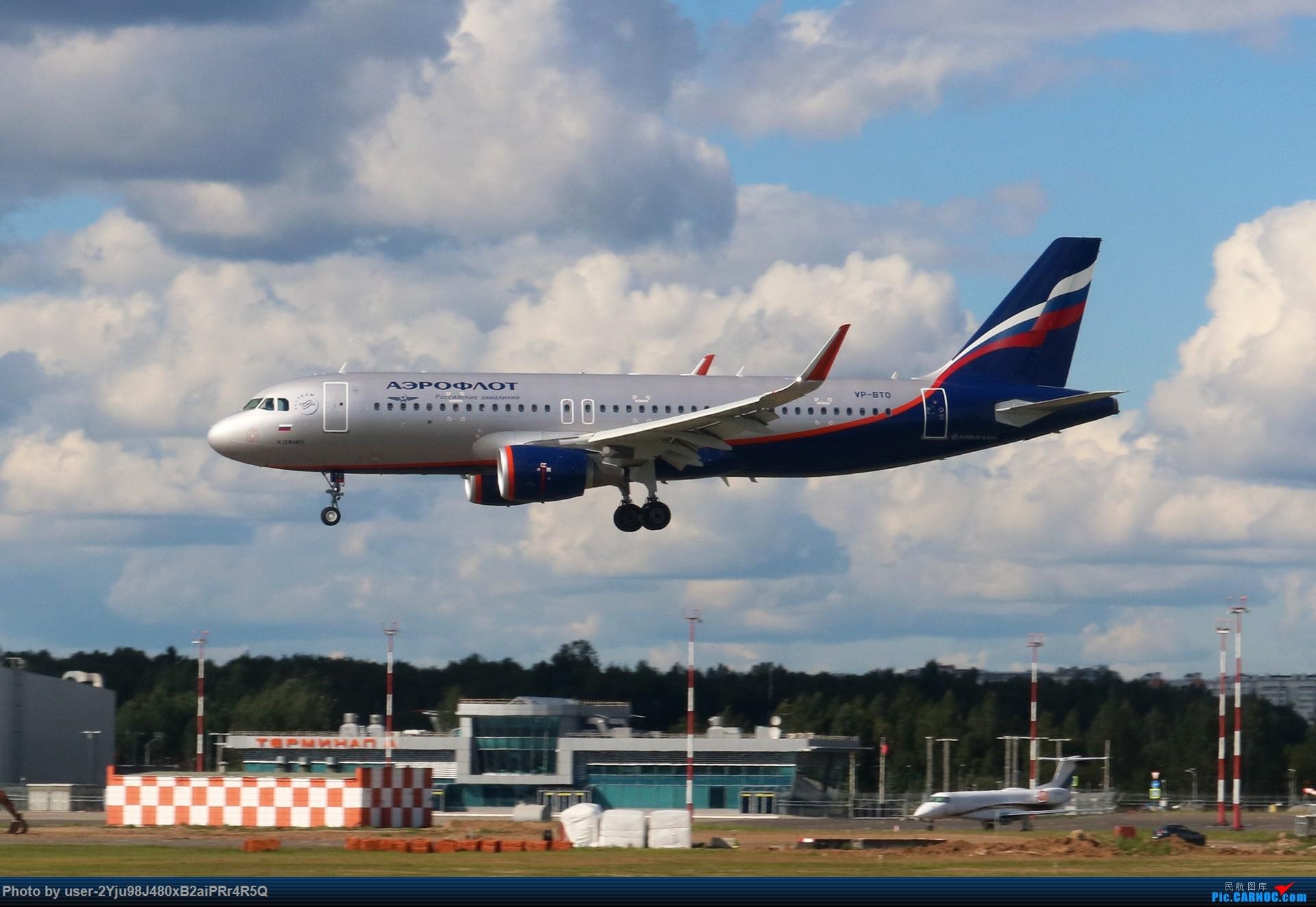 Re:LIULIU|Sheremetyevo的漫游|Aeroflot毛航篇 AIRBUS A320-214(SL) VP-BTO 俄罗斯谢诺梅杰沃机场