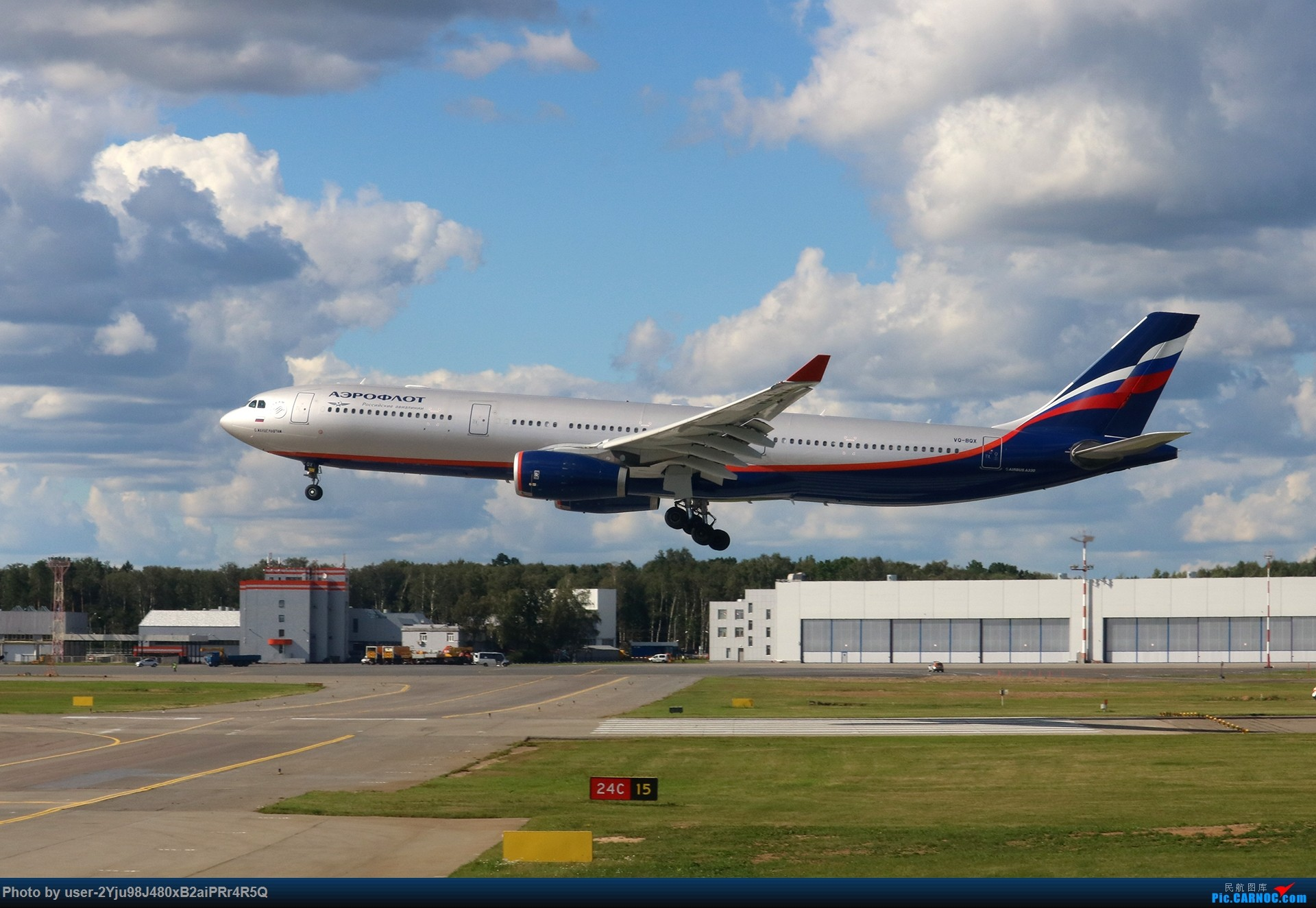 Re:[原创]LIULIU Sheremetyevo的漫游 Aeroflot毛航篇 AIRBUS A330-343 VQ-BQX 俄罗斯谢诺梅杰沃机场