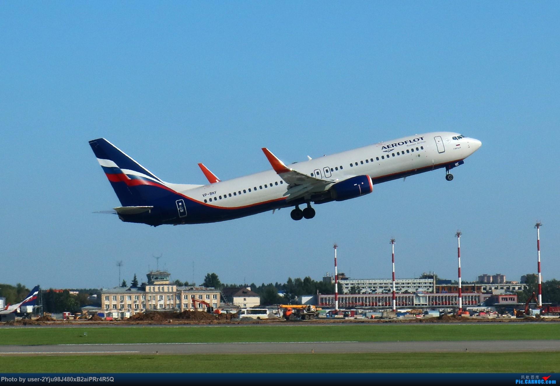 Re:LIULIU|Sheremetyevo的漫游|Aeroflot毛航篇 BOEING 737-8LJ(WL) VP-BKF 俄罗斯谢诺梅杰沃机场