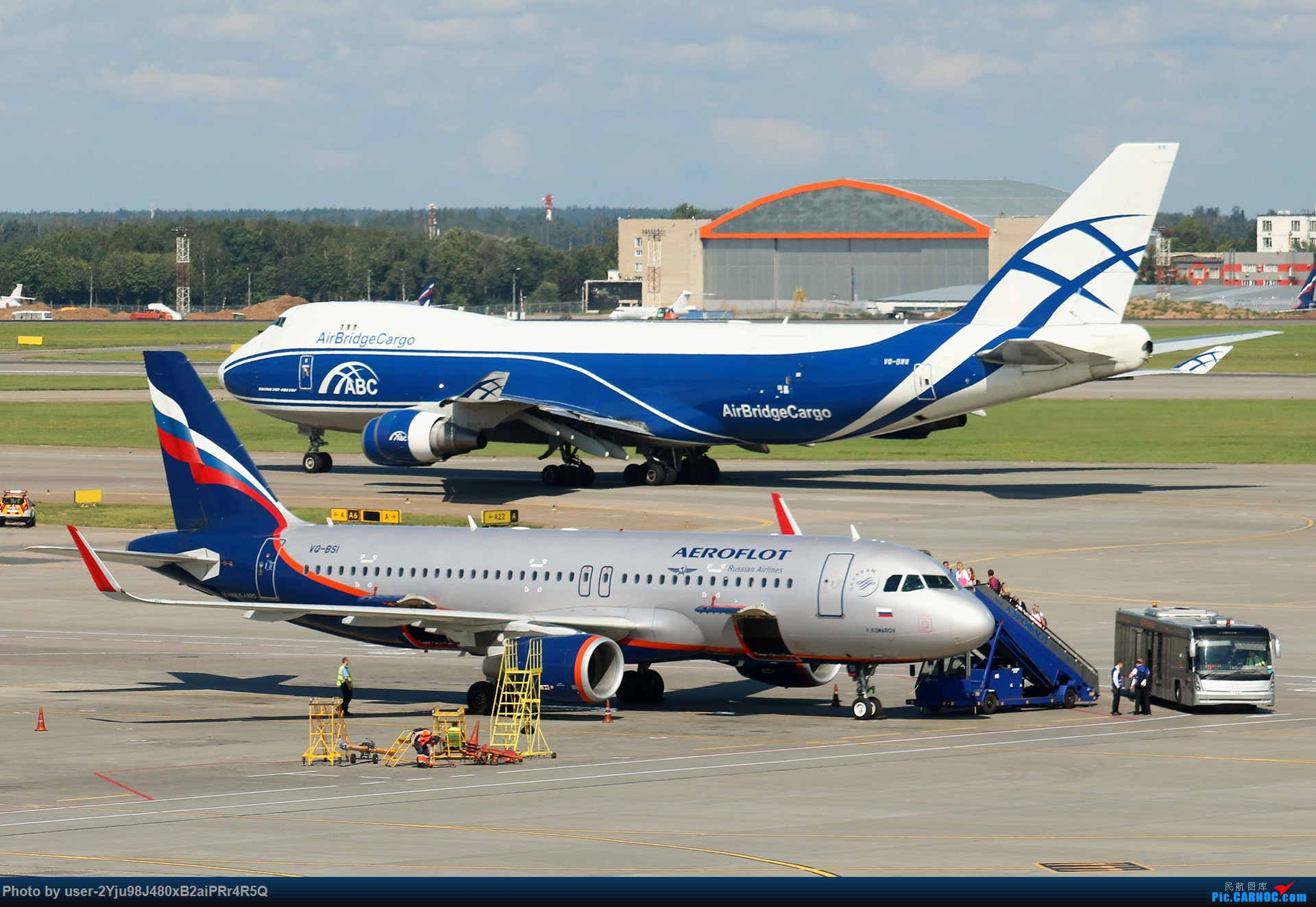 Re:LIULIU|Sheremetyevo的漫游|Aeroflot毛航篇 AIRBUS A320-214(SL) VQ-BSI 俄罗斯谢诺梅杰沃机场