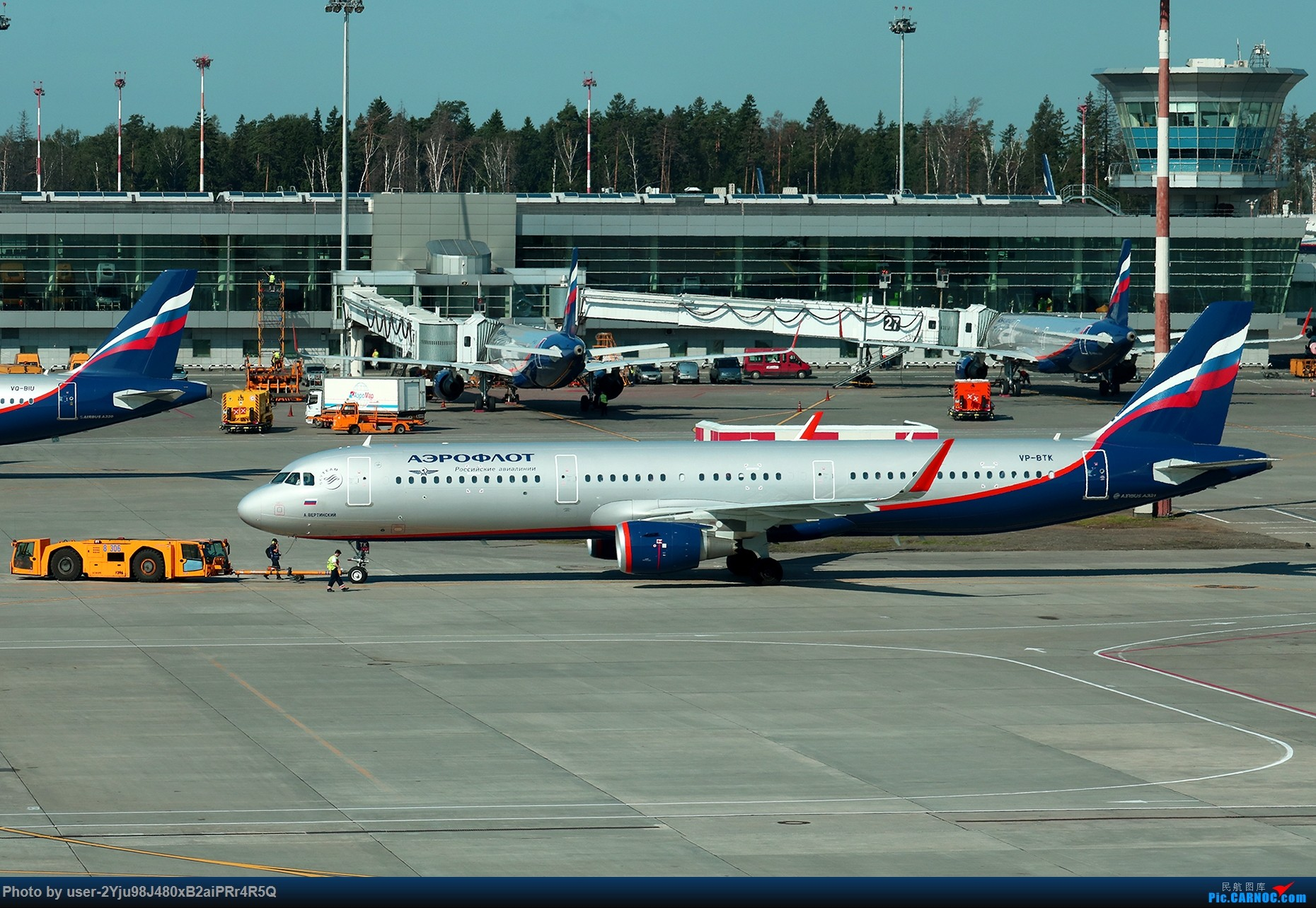 Re:[原创]LIULIU Sheremetyevo的漫游 Aeroflot毛航篇 AIRBUS A321-211(SL) VP-BTK 俄罗斯谢诺梅杰沃机场