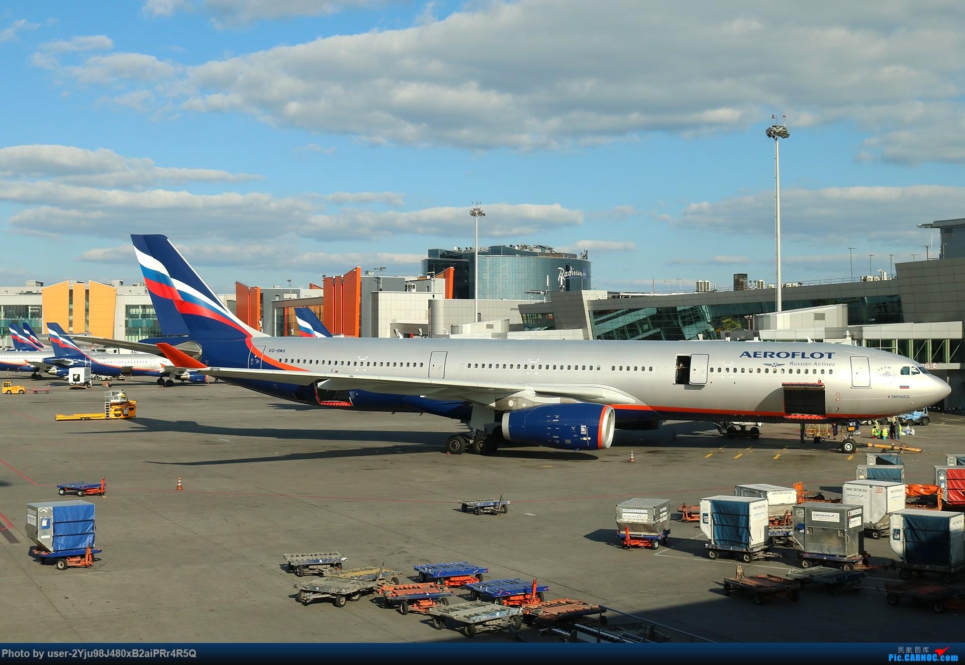 Re:LIULIU|Sheremetyevo的漫游|Aeroflot毛航篇 AIRBUS A330-343 VQ-BMX 俄罗斯谢诺梅杰沃机场