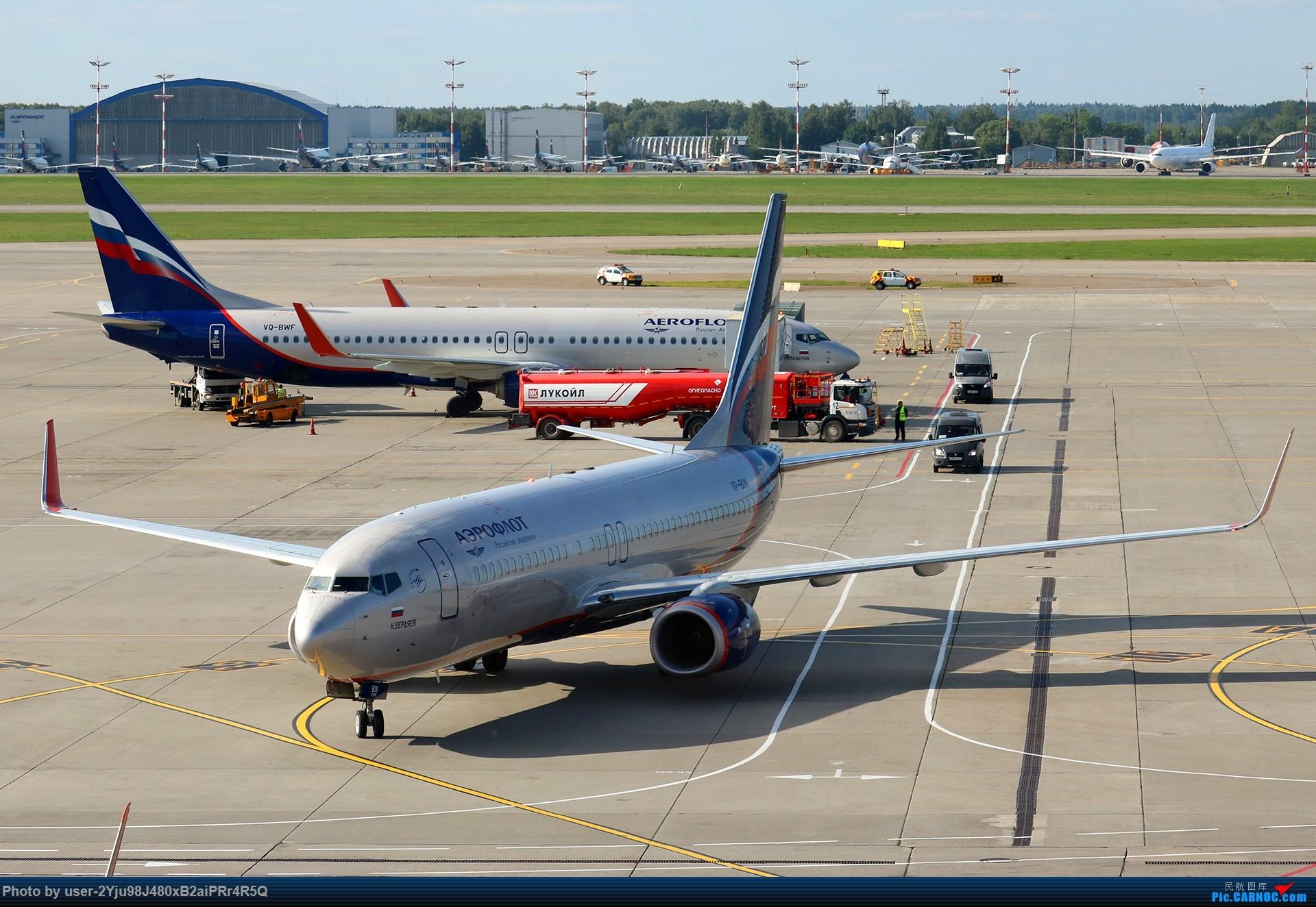 Re:[原创]LIULIU Sheremetyevo的漫游 Aeroflot毛航篇 BOEING 737-8LJ(WL) VP-BON 俄罗斯谢诺梅杰沃机场
