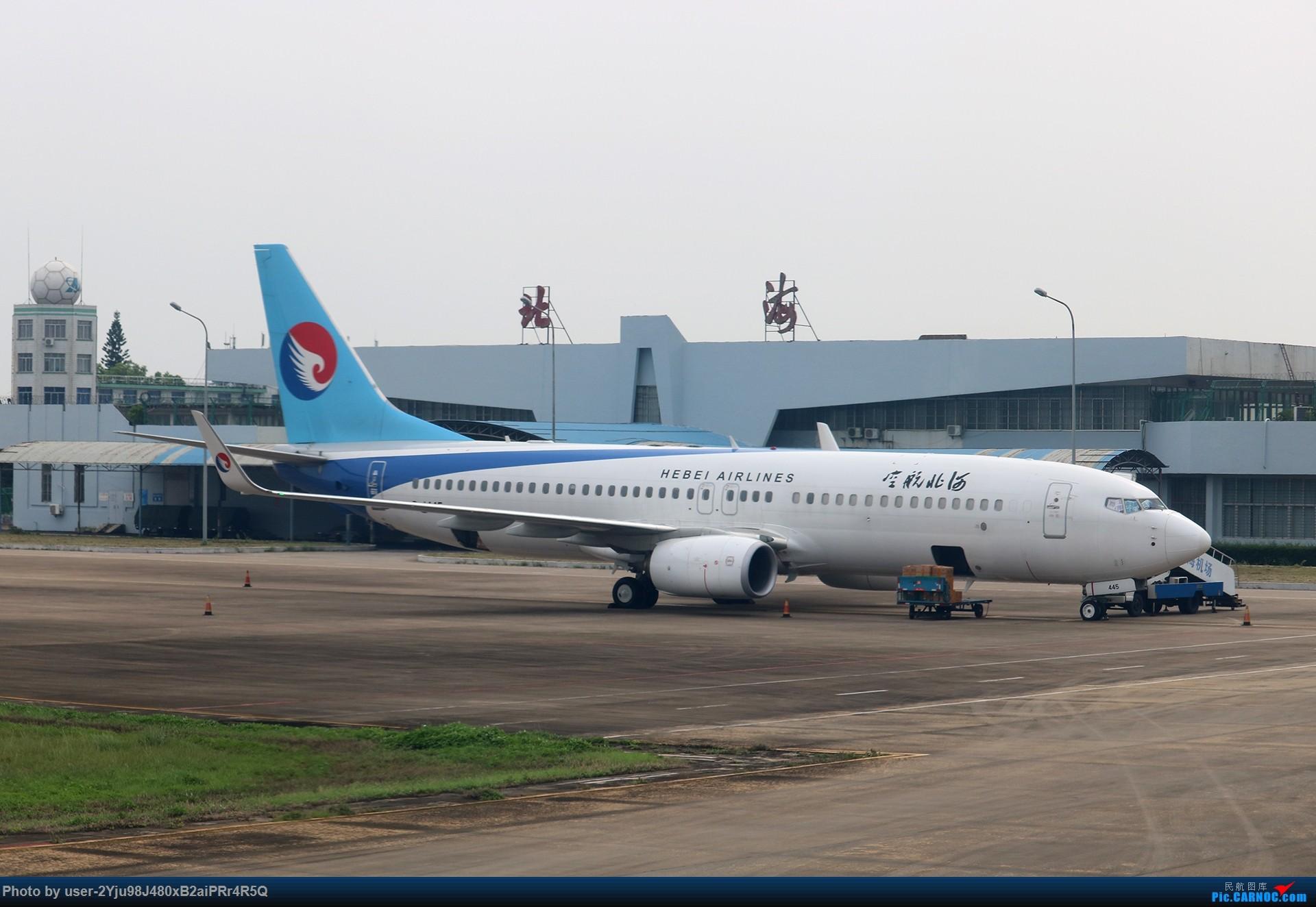 Re:[原创]LIULIU|一天两种机型三个国家四段航线五座城市的回家之路|西伯利亚上空的星光 BOEING 737-8LW(WL) B-1445 中国北海福成机场