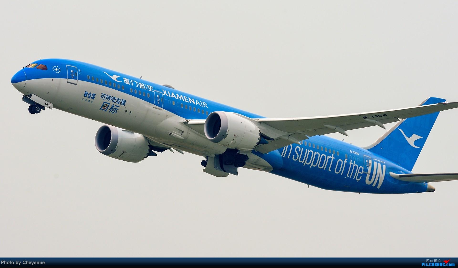 [原创]蓉卢兹之日常 BOEING 787-9 B-1356 中国成都双流国际机场