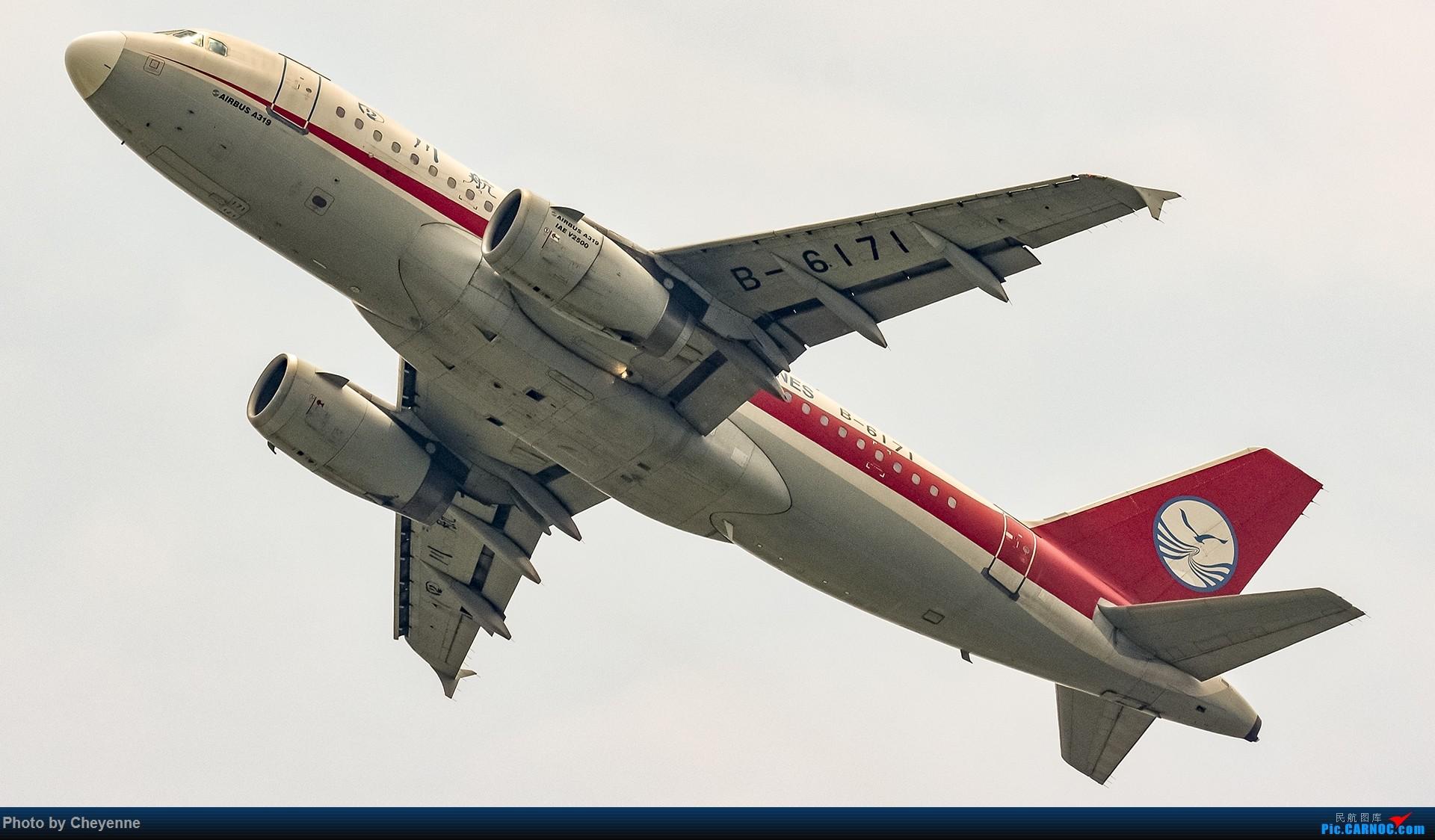 Re:[原创]蓉卢兹之日常 AIRBUS A319-100 B-6171 中国成都双流国际机场