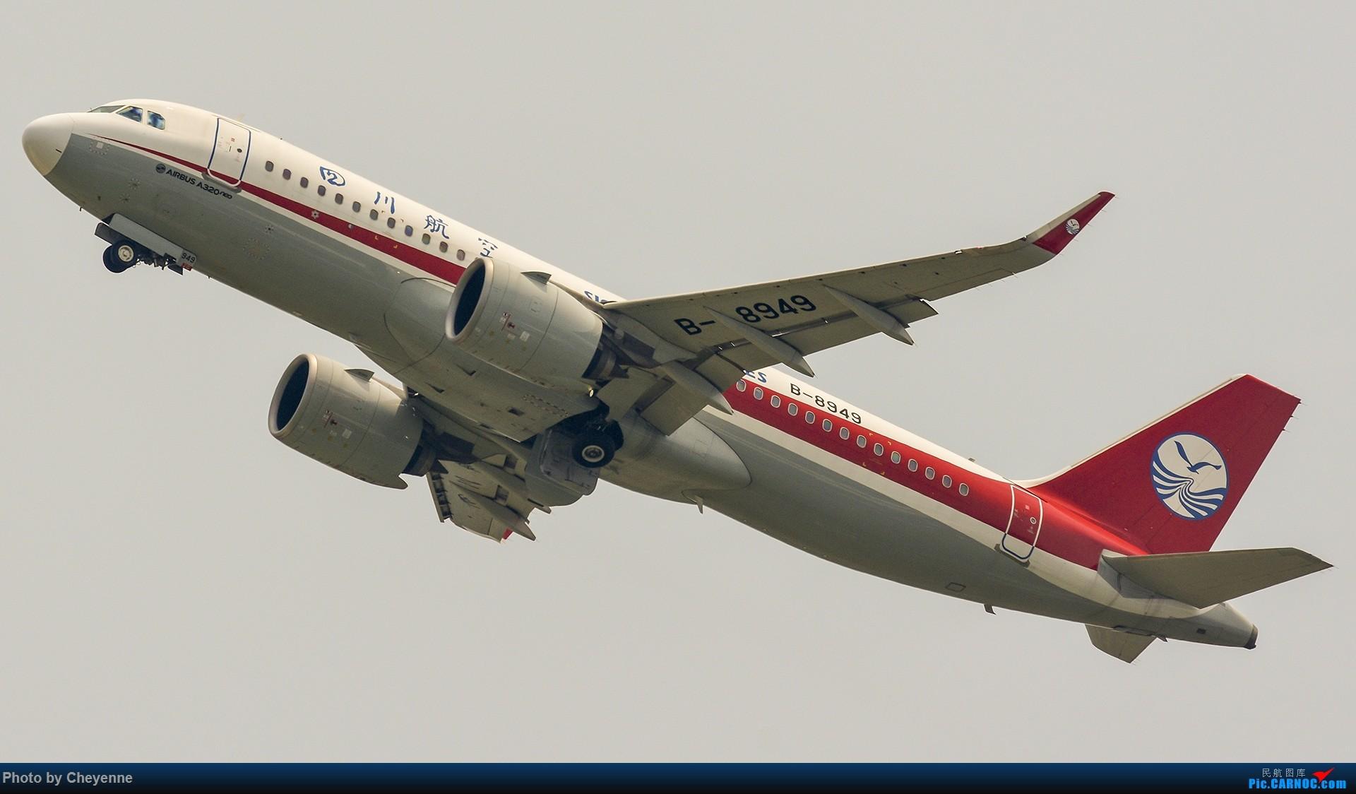 Re:[原创]蓉卢兹之日常 AIRBUS A320NEO B-8949 中国成都双流国际机场