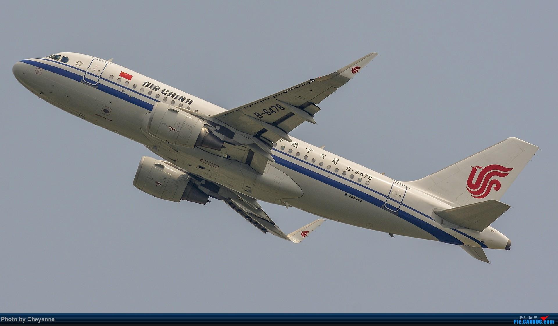 Re:[原创]蓉卢兹之日常 AIRBUS A319-100 B-6478 中国成都双流国际机场