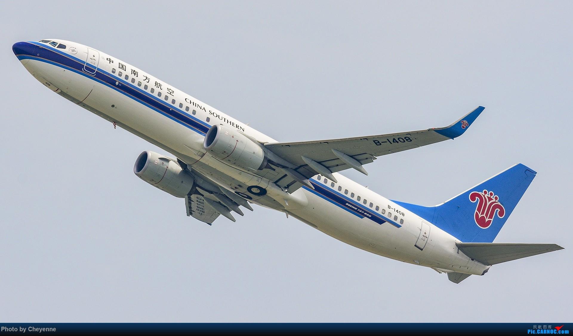 Re:[原创]蓉卢兹之日常 BOEING 737-800 B-1408 中国成都双流国际机场
