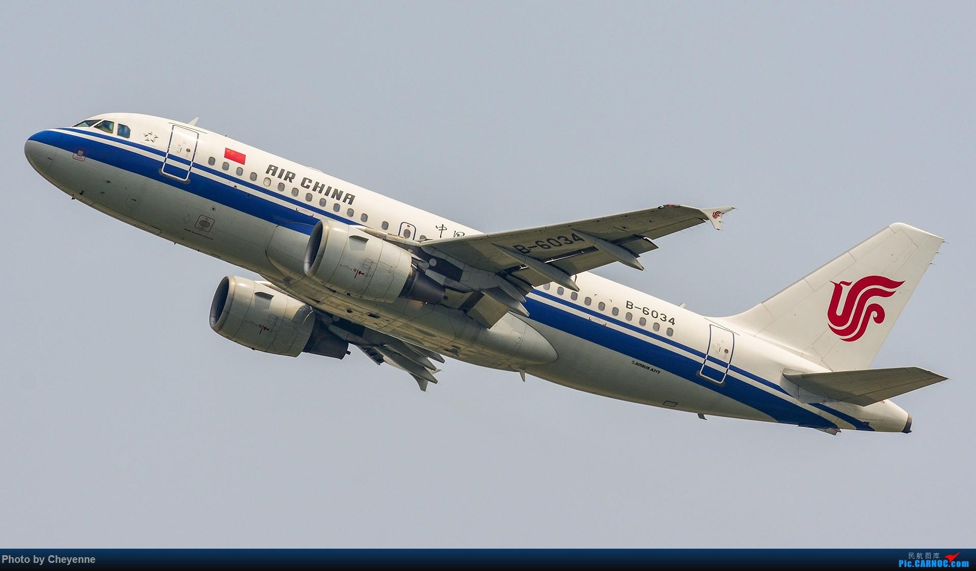 Re:[原创]蓉卢兹之日常 AIRBUS A319-100 B-6034 中国成都双流国际机场