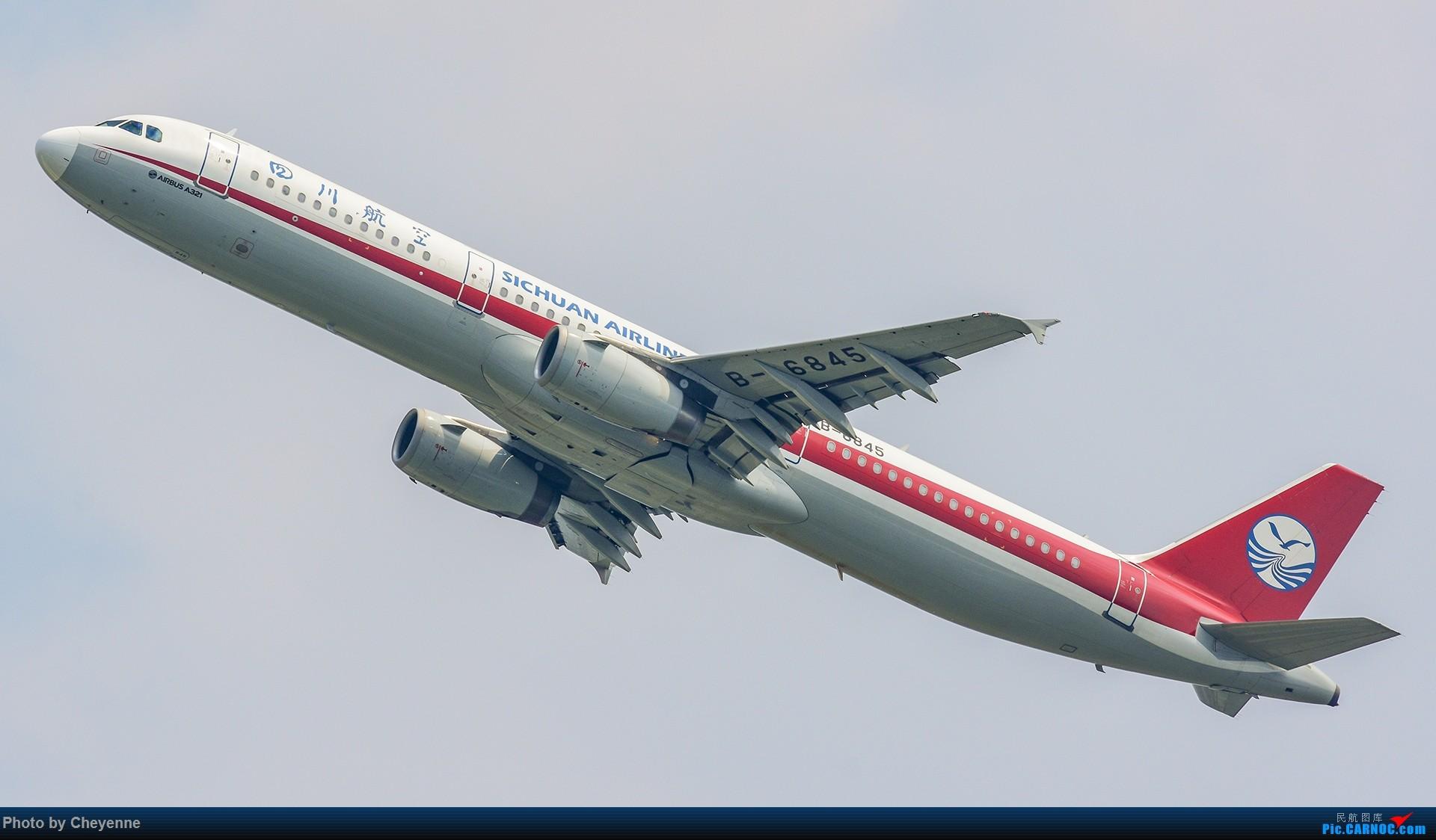 Re:[原创]蓉卢兹之日常 AIRBUS A321-200 B-6845 中国成都双流国际机场