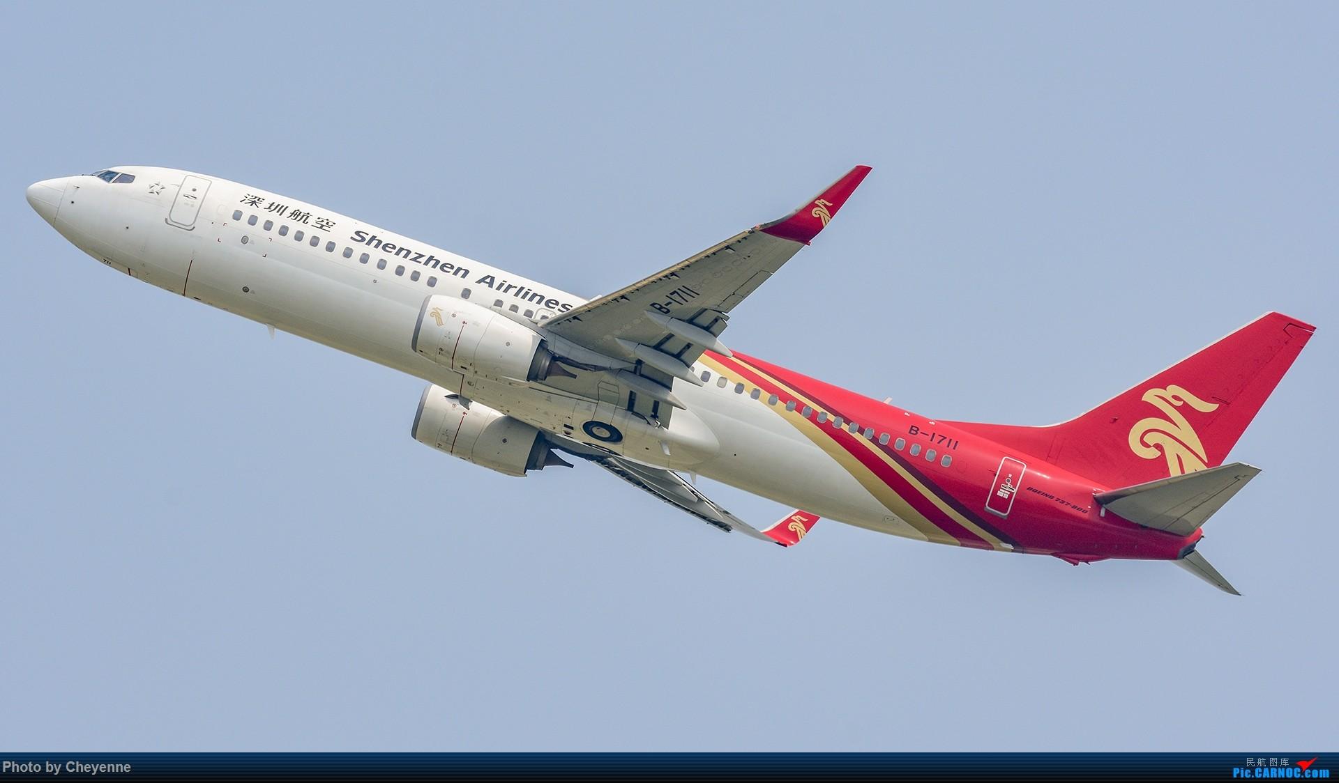 Re:[原创]蓉卢兹之日常 BOEING 737-800 B-1711 中国成都双流国际机场
