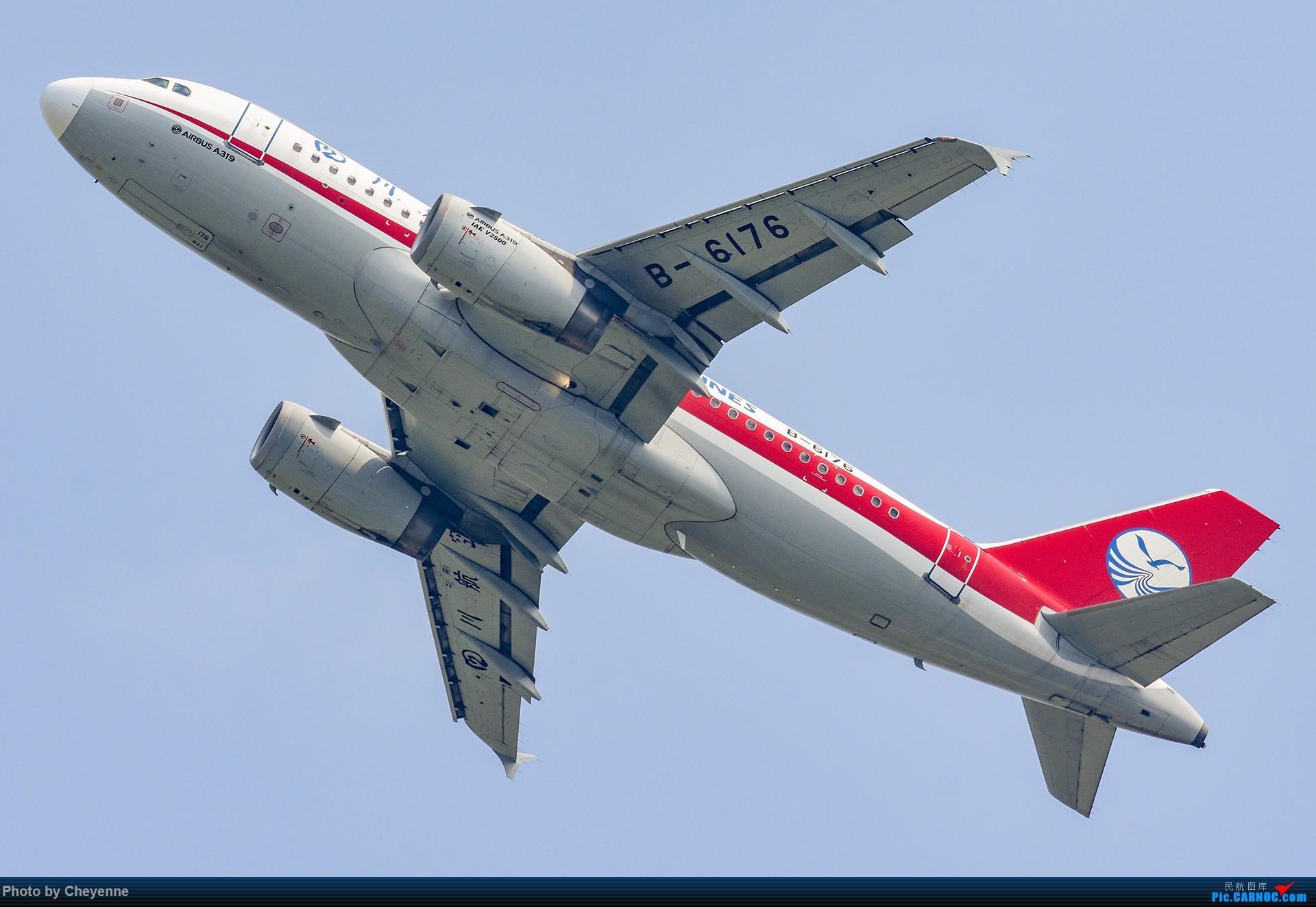 Re:[原创]蓉卢兹之日常 AIRBUS A319-100 B-6176 中国成都双流国际机场
