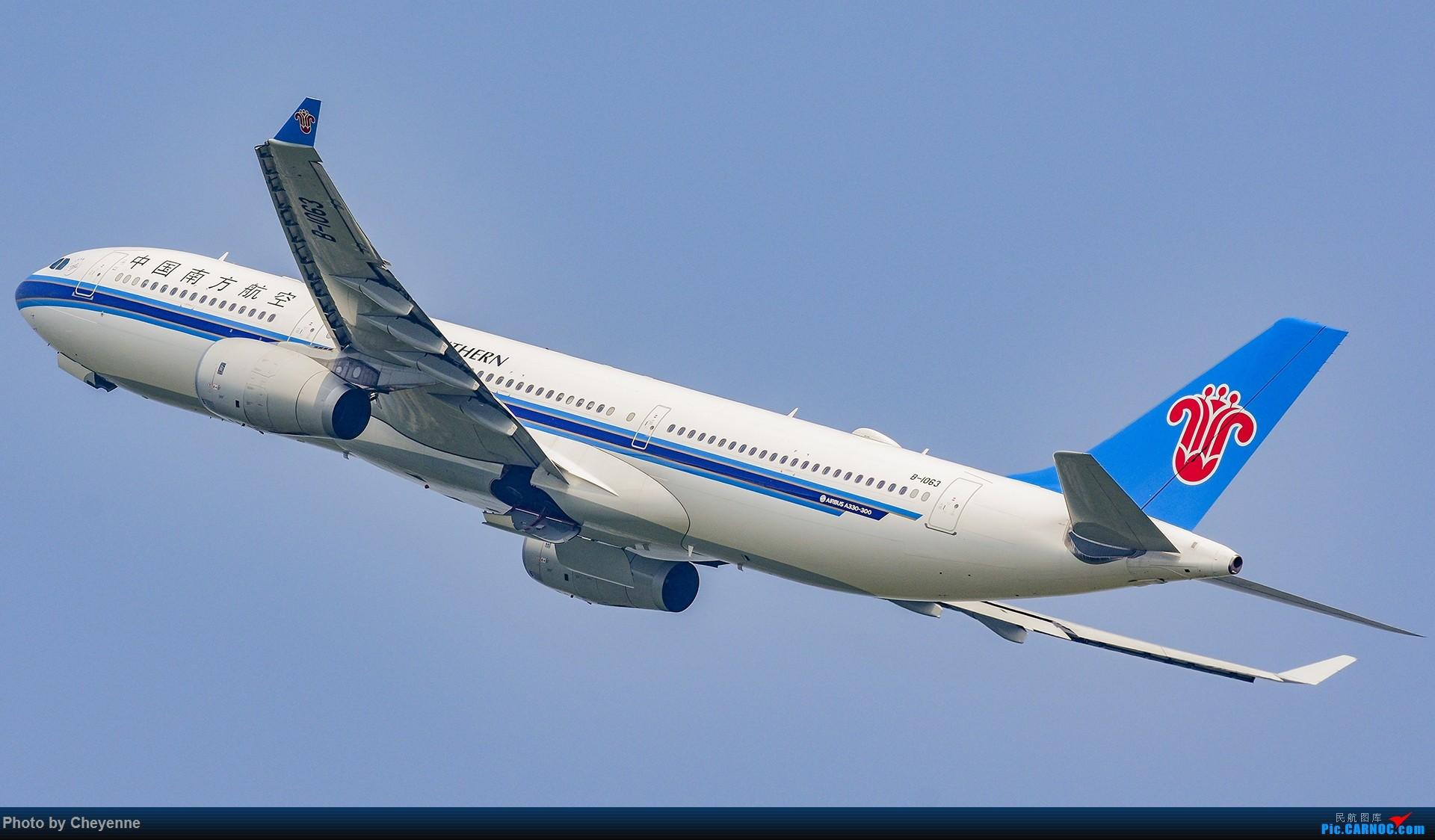 Re:[原创]蓉卢兹之日常 AIRBUS A330-300 B-1063 中国成都双流国际机场