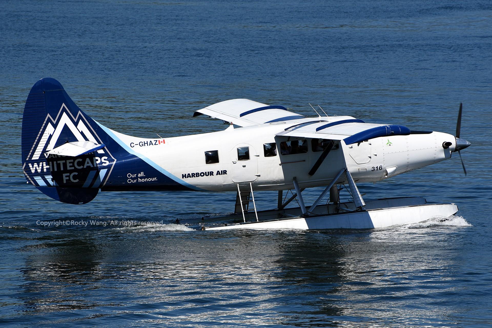 Re:[原创]简易版游记,纪念一次30段的环球飞行和一些碎碎念 DE HAVILLAND CANADA DHC-3T VAZAR TURBINE OTTER C-GHAZ Vancouver Harbour