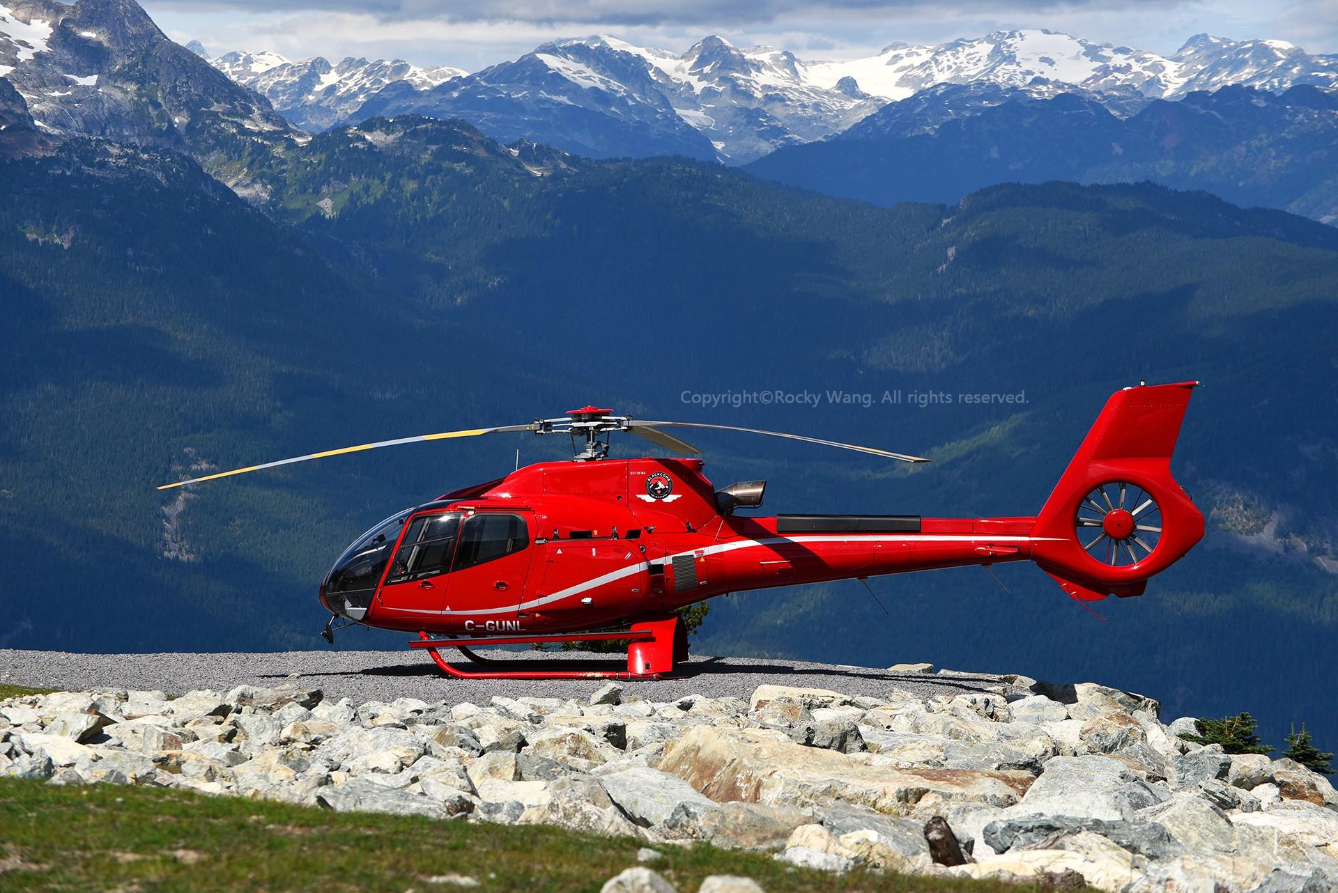 Re:Re:[原创]简易版游记,纪念一次30段的环球飞行和一些碎碎念 EUROCOPTER EC 130B4 C-GUNL Whistler-Mt. Black Comb