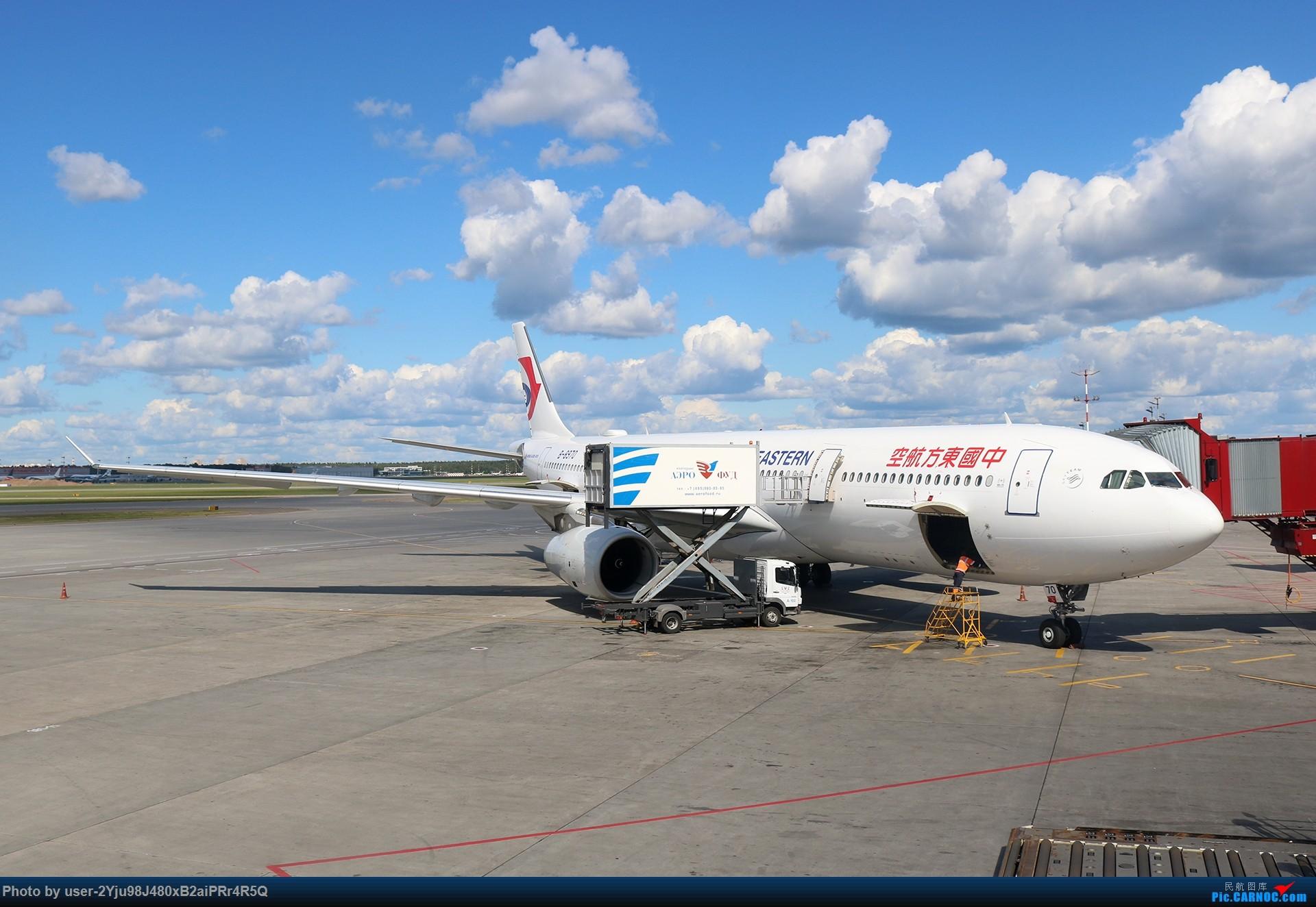 Re:[原创]LIULIU|一天两种机型三个国家四段航线五座城市的回家之路|西伯利亚上空的星光 AIRBUS A330-343 B-8970 俄罗斯谢诺梅杰沃机场