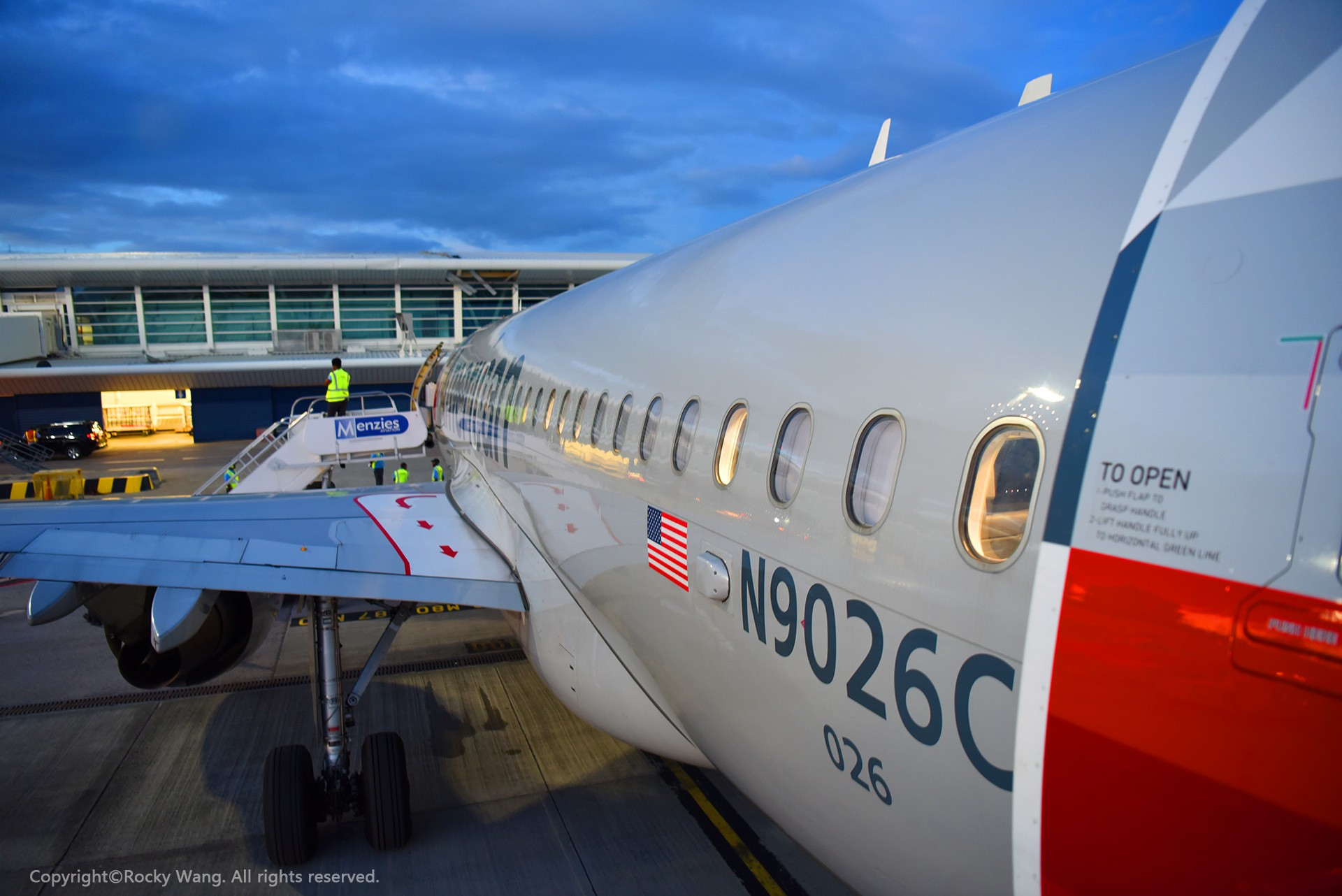 Re:[原创]简易版游记,纪念一次30段的环球飞行和一些碎碎念 AIRBUS A319-115 N9026C Princess Juliana Int'l