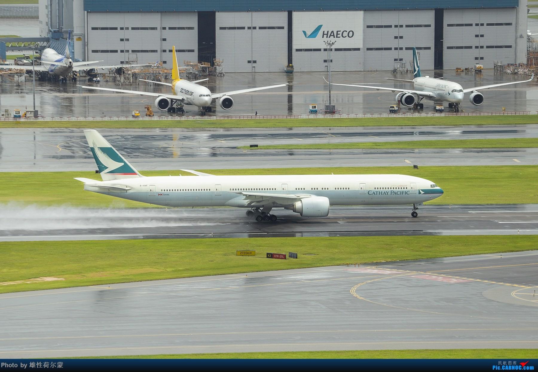 Re:[原创]沙螺湾拍飞机起飞(香港) BOEING 777-300ER B-HNR 中国香港国际机场