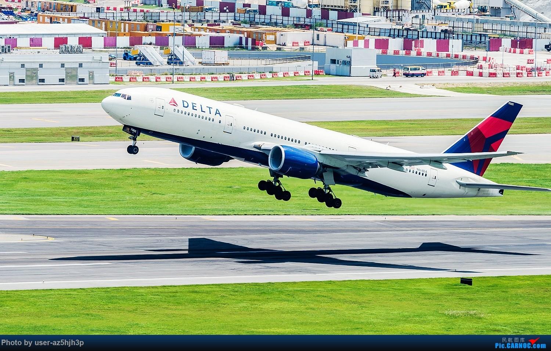 Re:[原创]沙螺湾拍飞机起飞(香港) BOEING 777-200 N864DA 香港沙螺湾