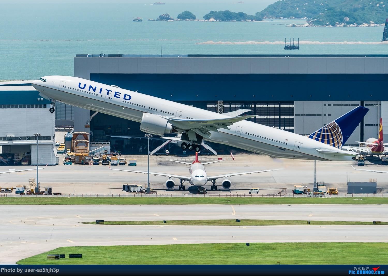 Re:[原创]沙螺湾拍飞机起飞(香港) BOEING 777-300 N2846U 香港沙螺湾