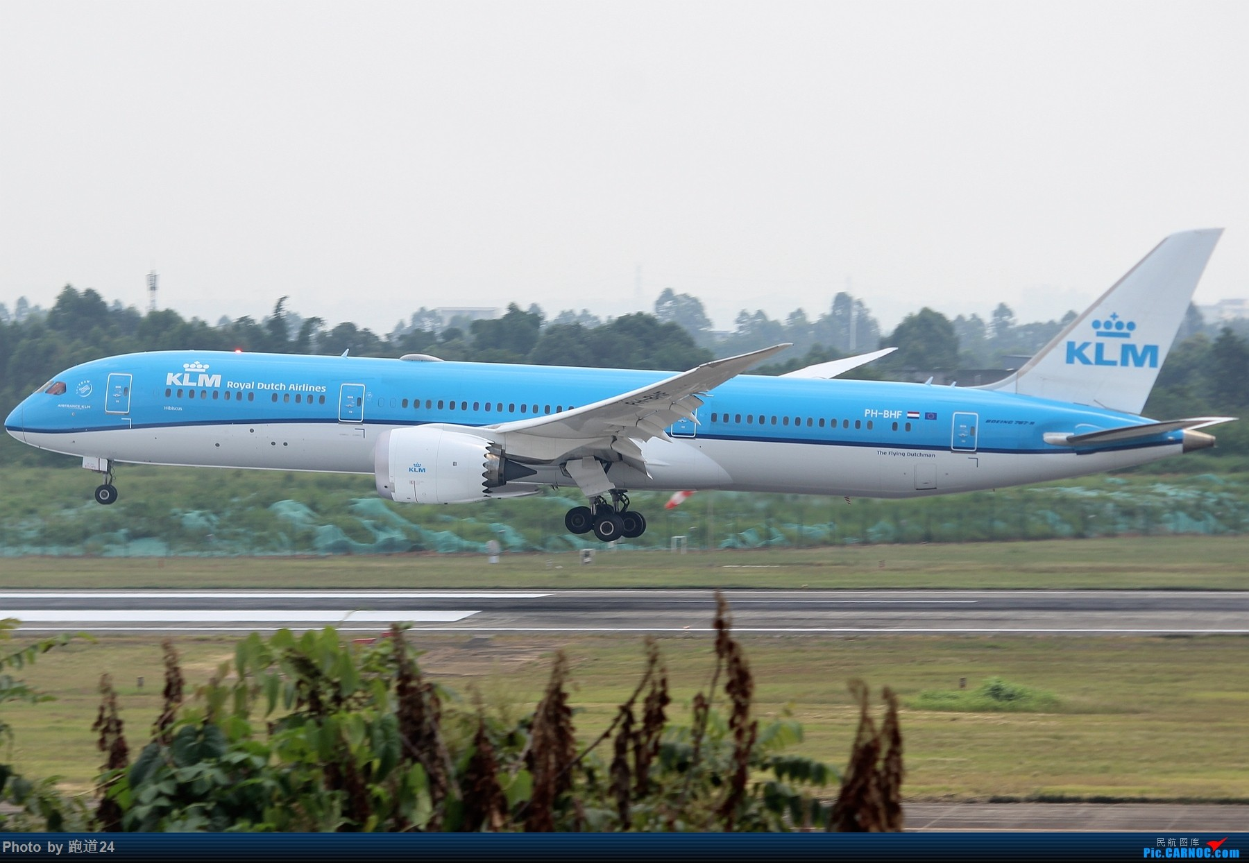 Re:[原创]【多图党】CTU一组 BOEING 787-9 PH-BHF 中国成都双流国际机场