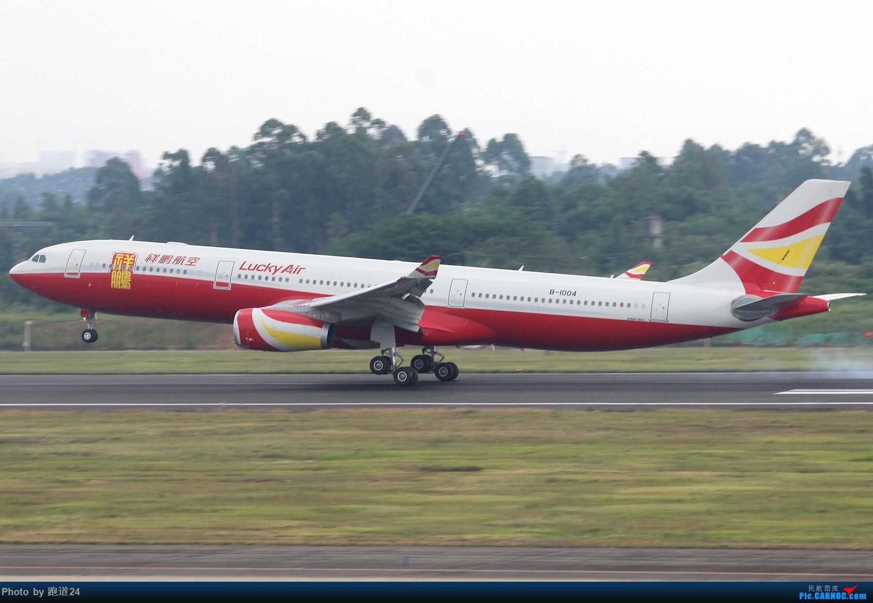 Re:[原创]【多图党】CTU一组 AIRBUS A330-300 B-1004 中国成都双流国际机场