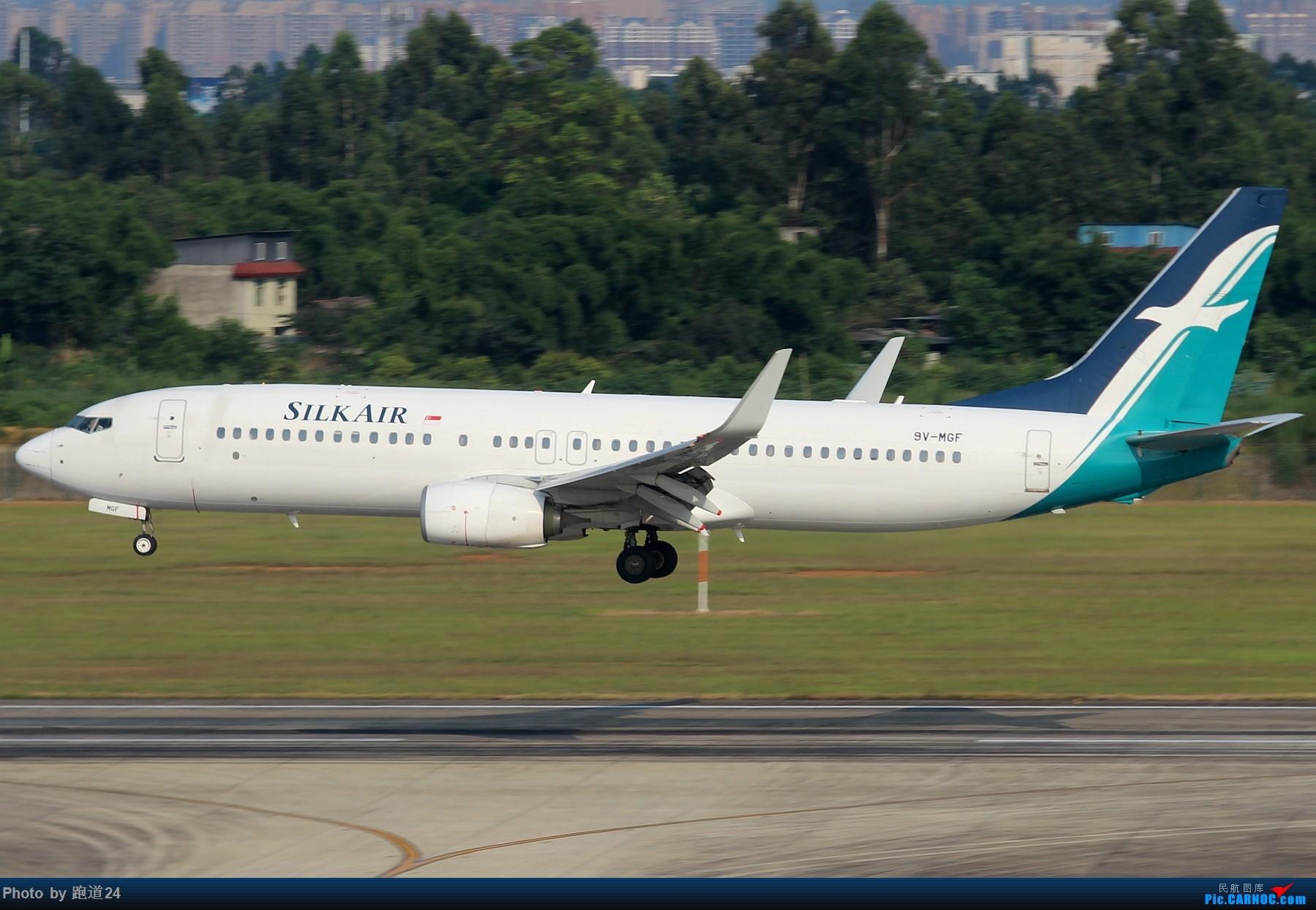 Re:[原创]【多图党】CTU一组 BOEING 737-800 9V-MGF 中国成都双流国际机场
