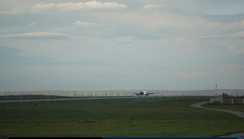 Re:[原创]呼伦贝尔机场夏日午后 BOEING 737-800 B-1209 中国海拉尔东山机场