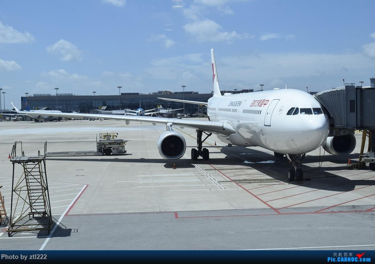 Re:[原创]Re:[原创]【天天飞旅】第九集:暑假再探魔都---东航京沪航线再体验 AIRBUS A330-300 B-6095 中国上海虹桥国际机场