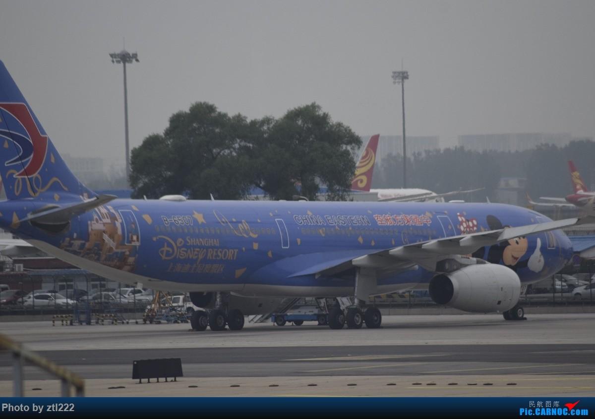 Re:[原创]Re:[原创]【天天飞旅】第九集:暑假再探魔都---东航京沪航线再体验 AIRBUS A330-300 B-6507 中国北京首都国际机场