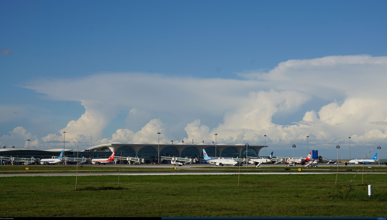 [原创]呼伦贝尔机场夏日午后    中国海拉尔东山机场