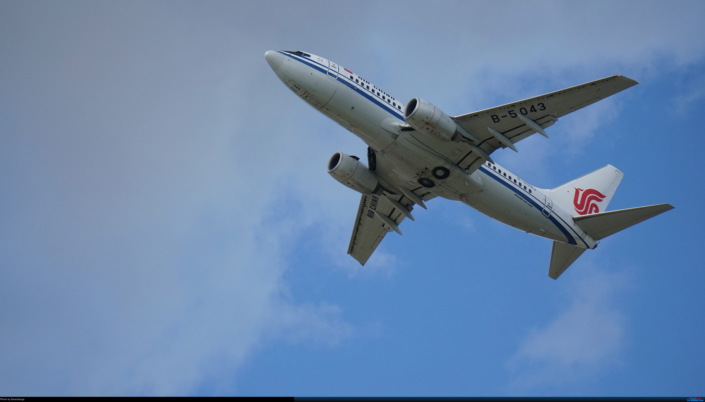 Re:[原创]呼伦贝尔机场夏日午后 BOEING 737-700 B-5043 HLD
