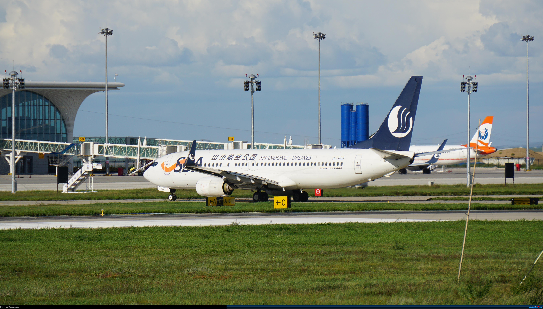 Re:[原创]呼伦贝尔机场夏日午后 BOEING 737-800 B-5629 中国海拉尔东山机场
