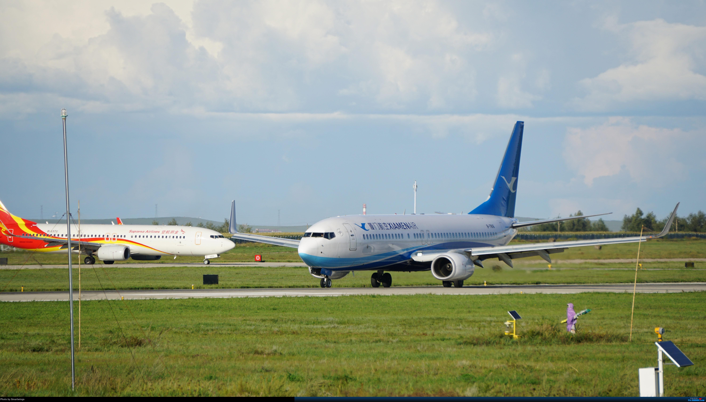 Re:[原创]呼伦贝尔机场夏日午后 BOEING 737-800 B-7816 中国海拉尔东山机场