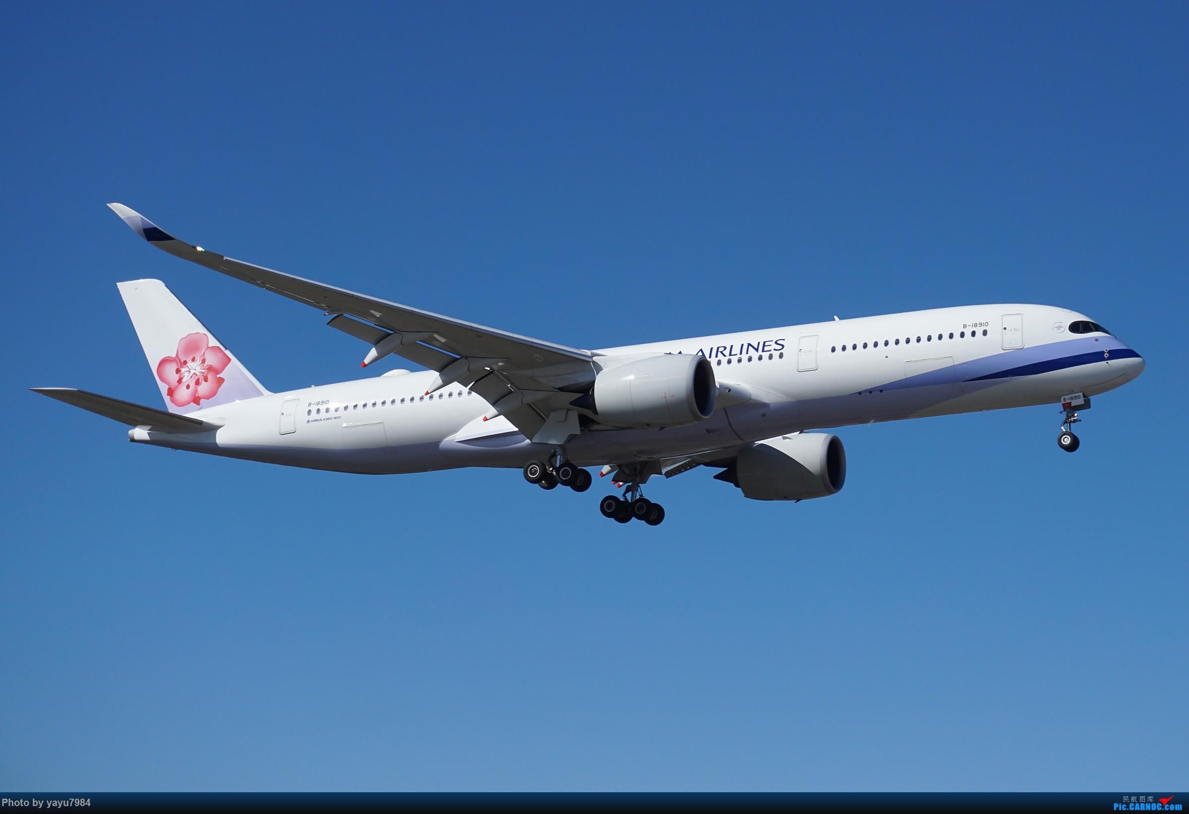 [原创][SYD] 25跑道头打卡,有幸收集到4架MU的A332 AIRBUS A350-900 B-18910 澳大利亚悉尼金斯福德·史密斯机场