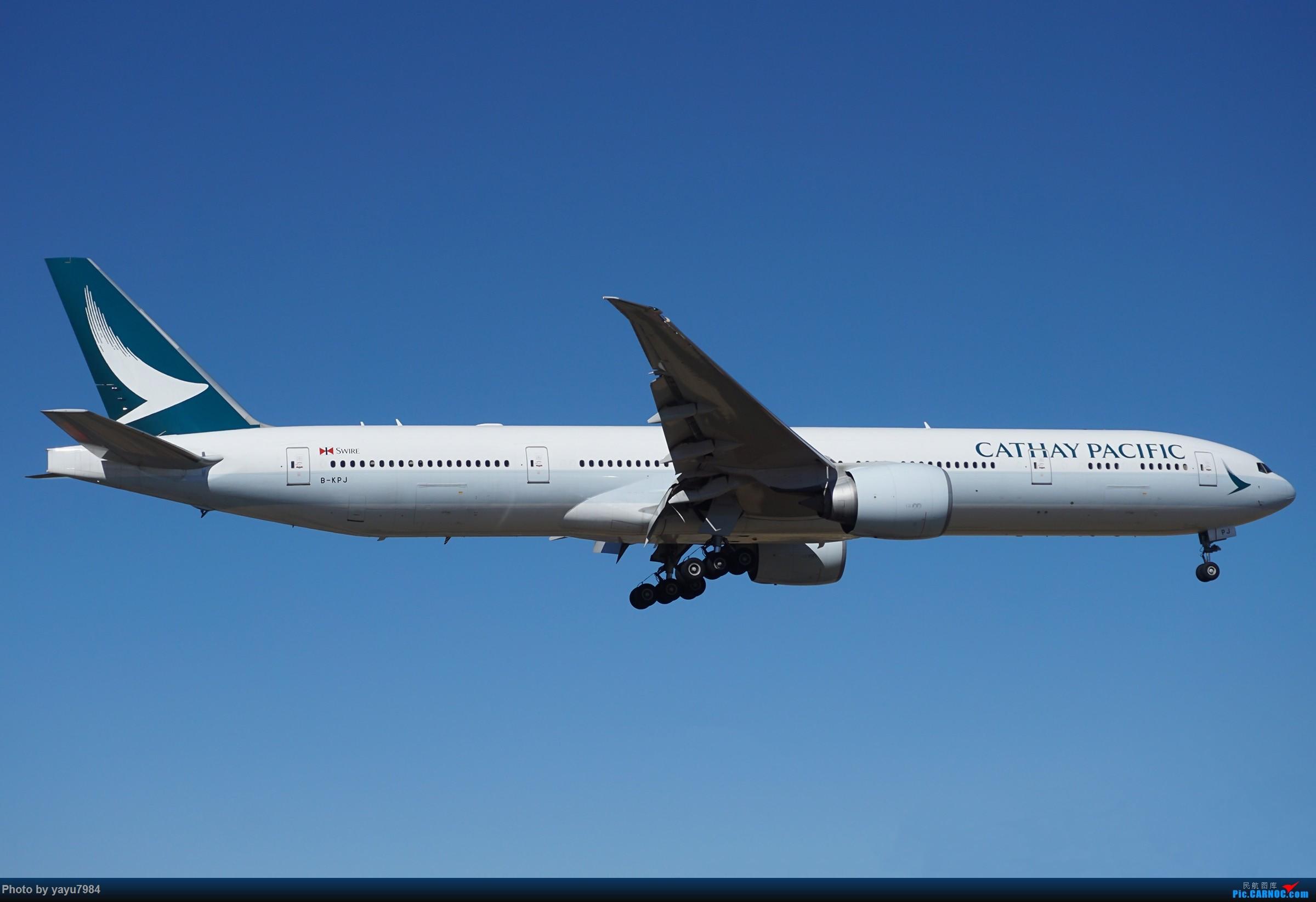 Re:[原创][SYD] 25跑道头打卡,有幸收集到4架MU的A332 BOEING 777-300ER B-KPJ 澳大利亚悉尼金斯福德·史密斯机场