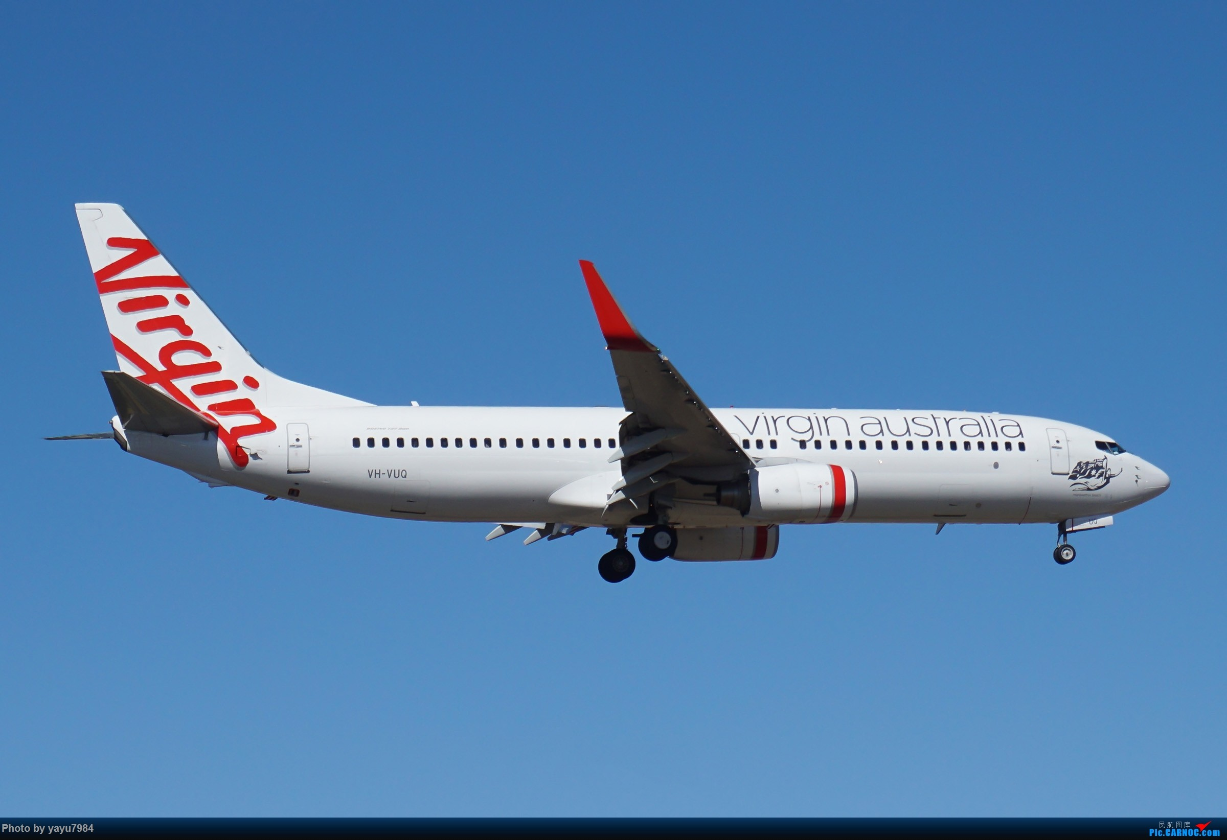 Re:[原创][SYD] 25跑道头打卡,有幸收集到4架MU的A332 BOEING 737-800 VH-VUQ 澳大利亚悉尼金斯福德·史密斯机场