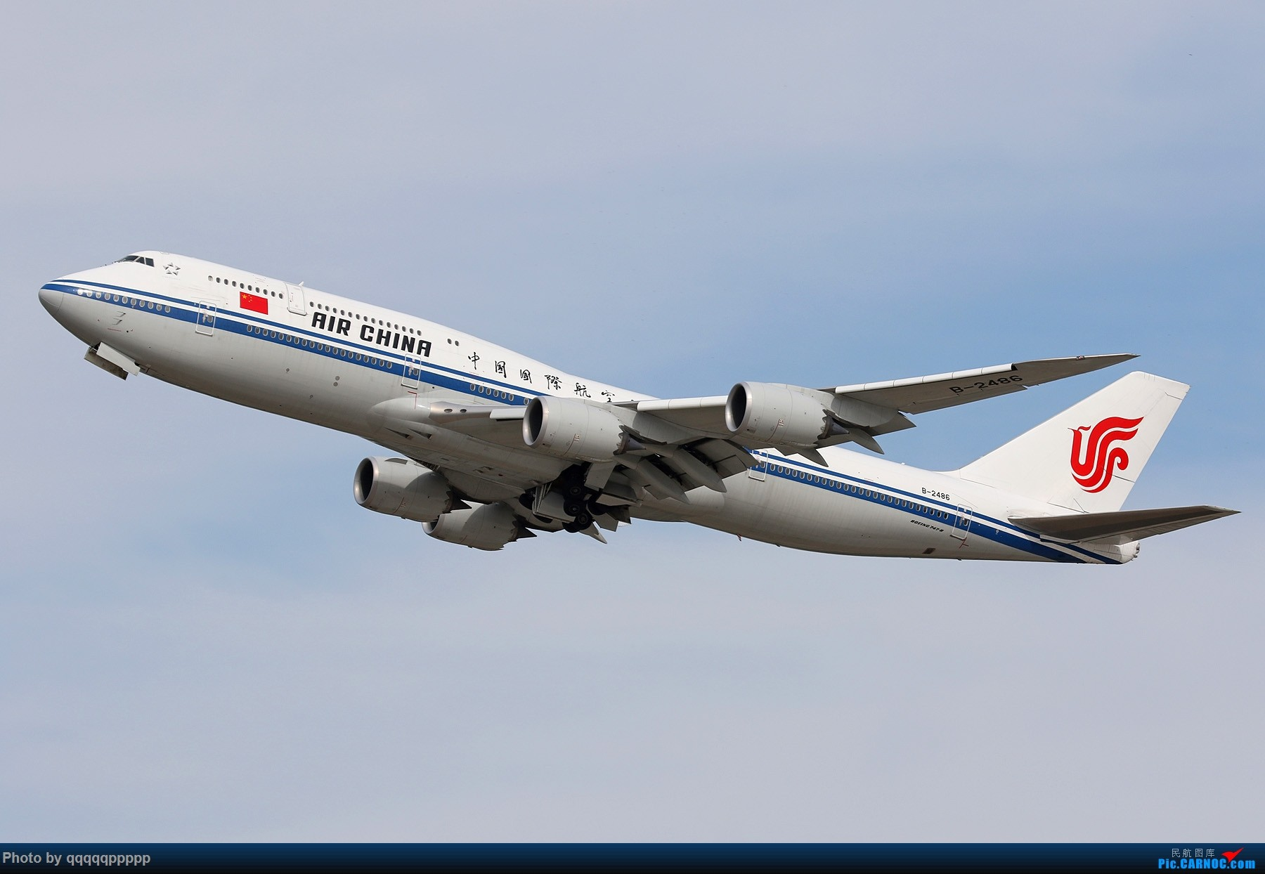 Re:[原创]~近期杂图~特别特别杂~~ BOEING 747-8I B-2486 中国北京首都国际机场