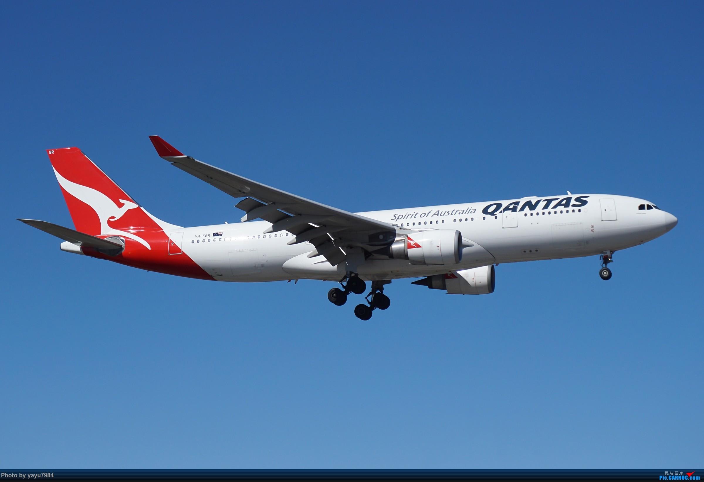 Re:[原创][SYD] 25跑道头打卡,有幸收集到4架MU的A332 AIRBUS A330-200 VH-EBR 澳大利亚悉尼金斯福德·史密斯机场