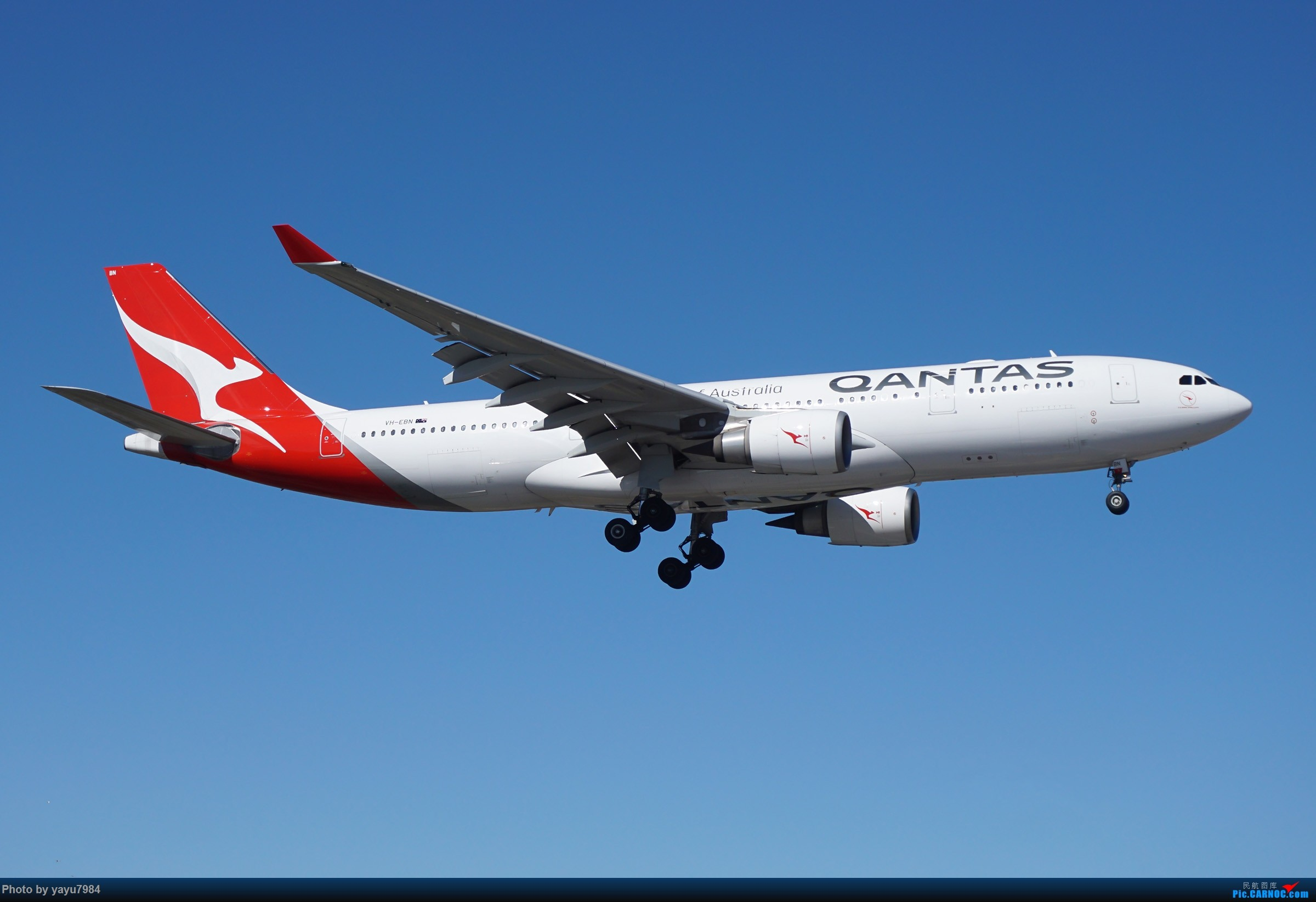 Re:[原创][SYD] 25跑道头打卡,有幸收集到4架MU的A332 AIRBUS A330-200 VH-EBN 澳大利亚悉尼金斯福德·史密斯机场