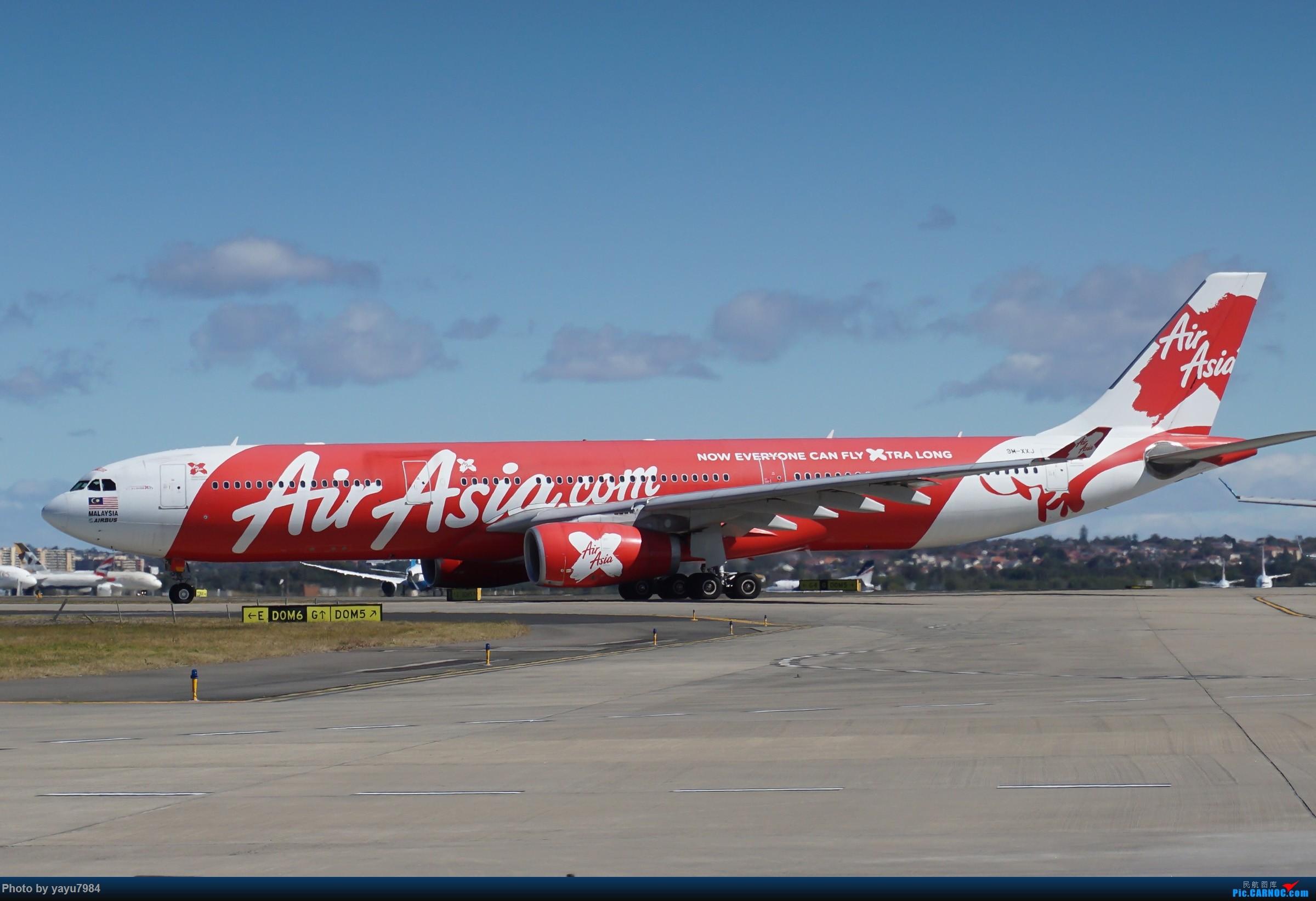 Re:[原创][SYD] 25跑道头打卡,有幸收集到4架MU的A332 AIRBUS A330-300 9M-XXJ 澳大利亚悉尼金斯福德·史密斯机场
