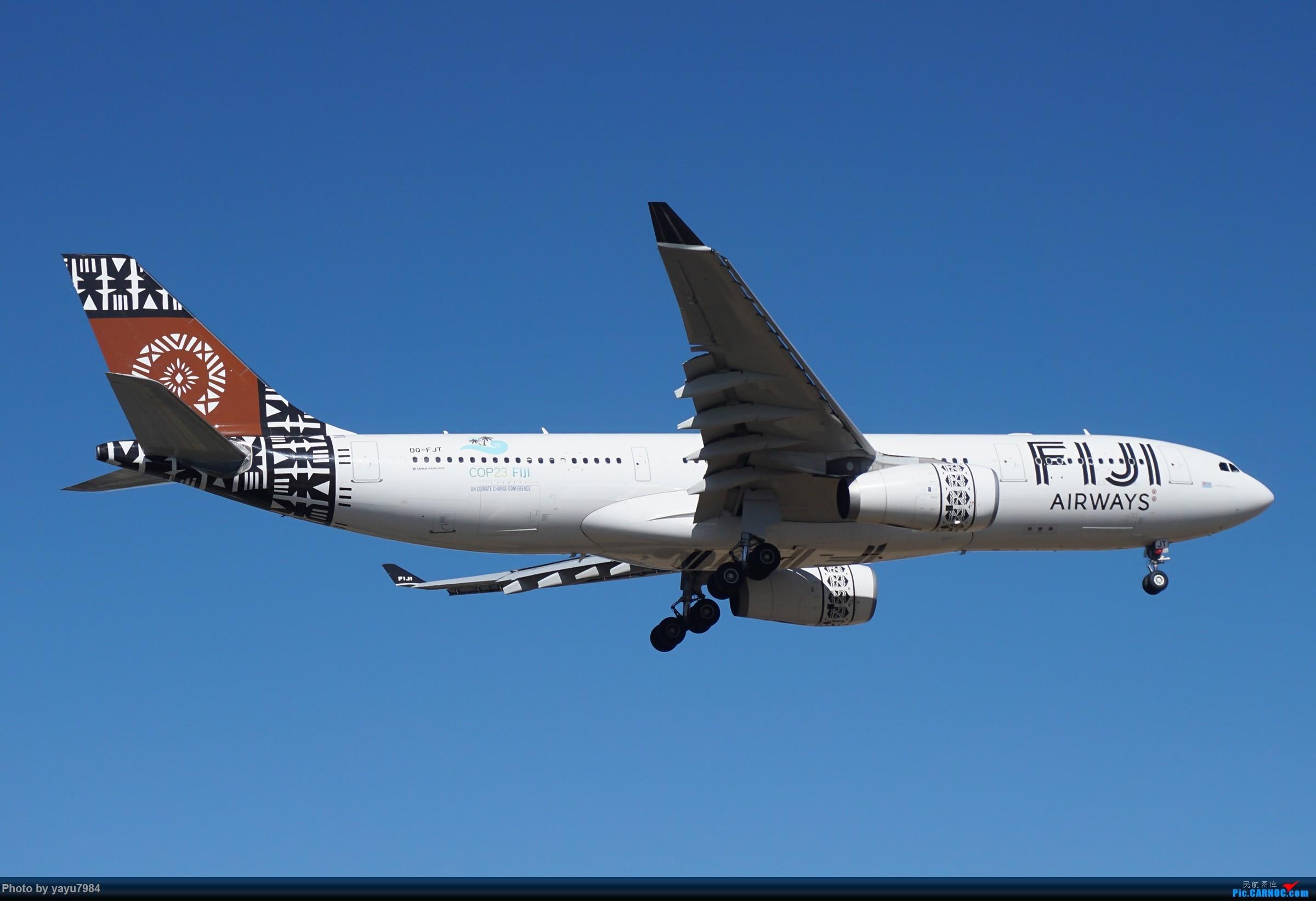 Re:[原创][SYD] 25跑道头打卡,有幸收集到4架MU的A332 AIRBUS A330-200 DQ-FJT 澳大利亚悉尼金斯福德·史密斯机场
